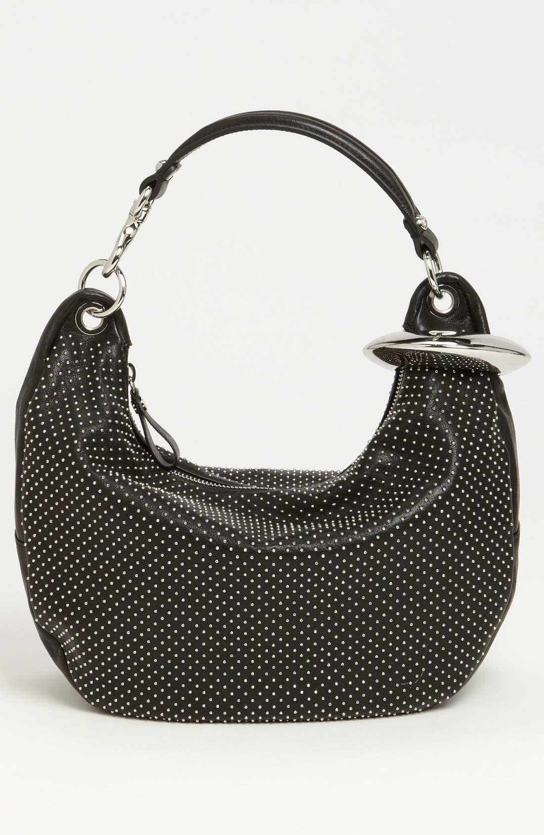 Alternate Image 4  - Jimmy Choo 'Solar - Small' Studded Leather Hobo