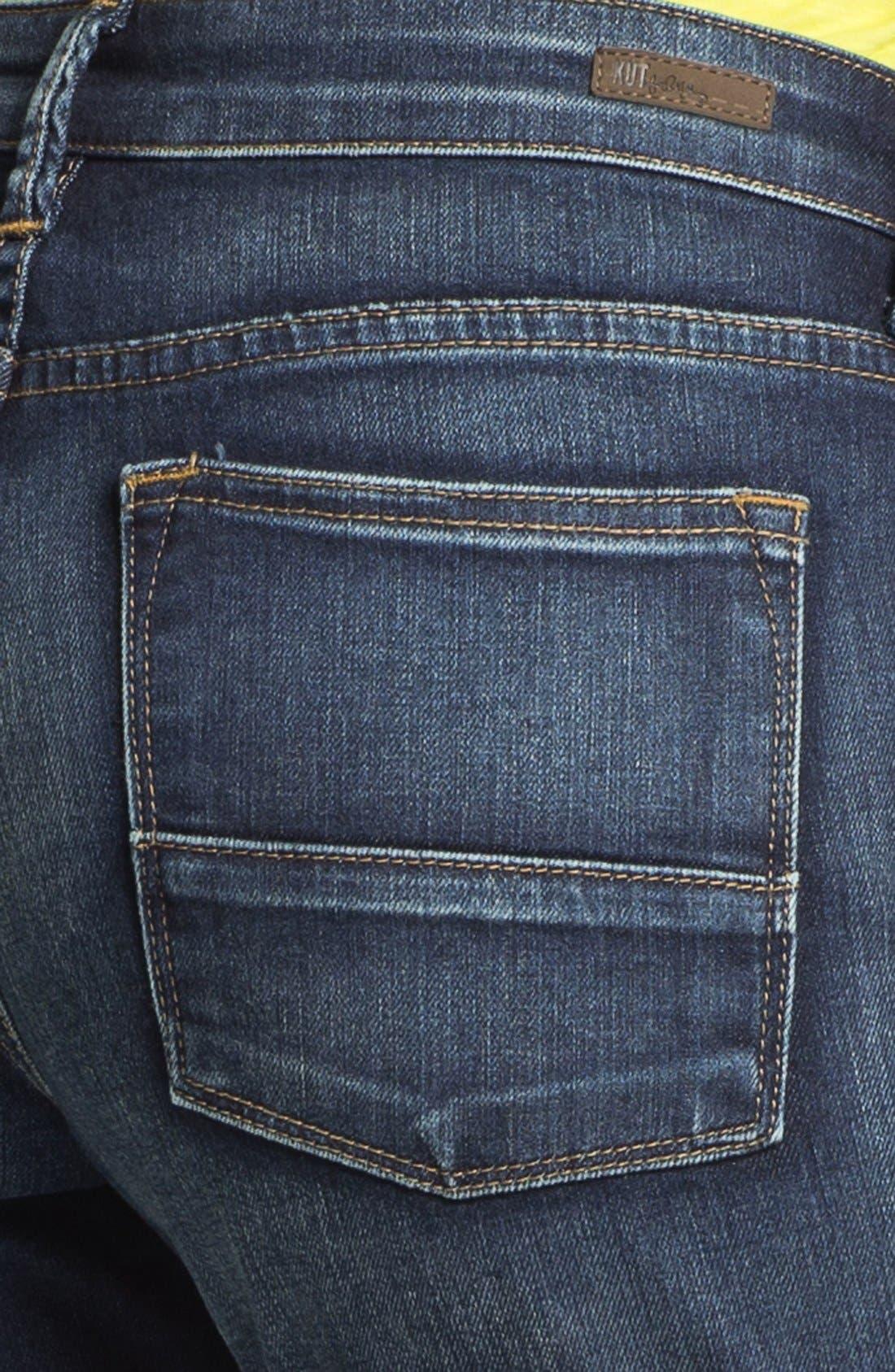 Alternate Image 3  - KUT from the Kloth 'Catherine' Boyfriend Denim Shorts
