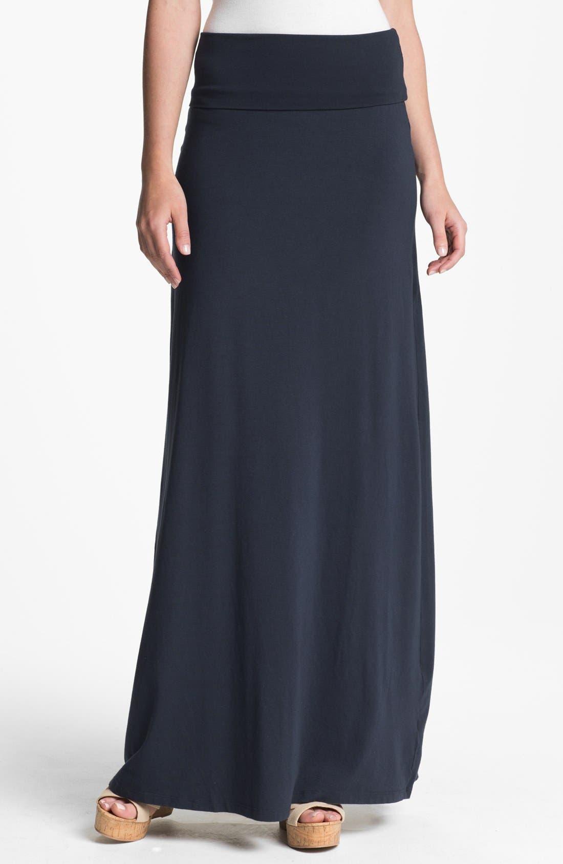 Alternate Image 1 Selected - Splendid Knit Maxi Skirt