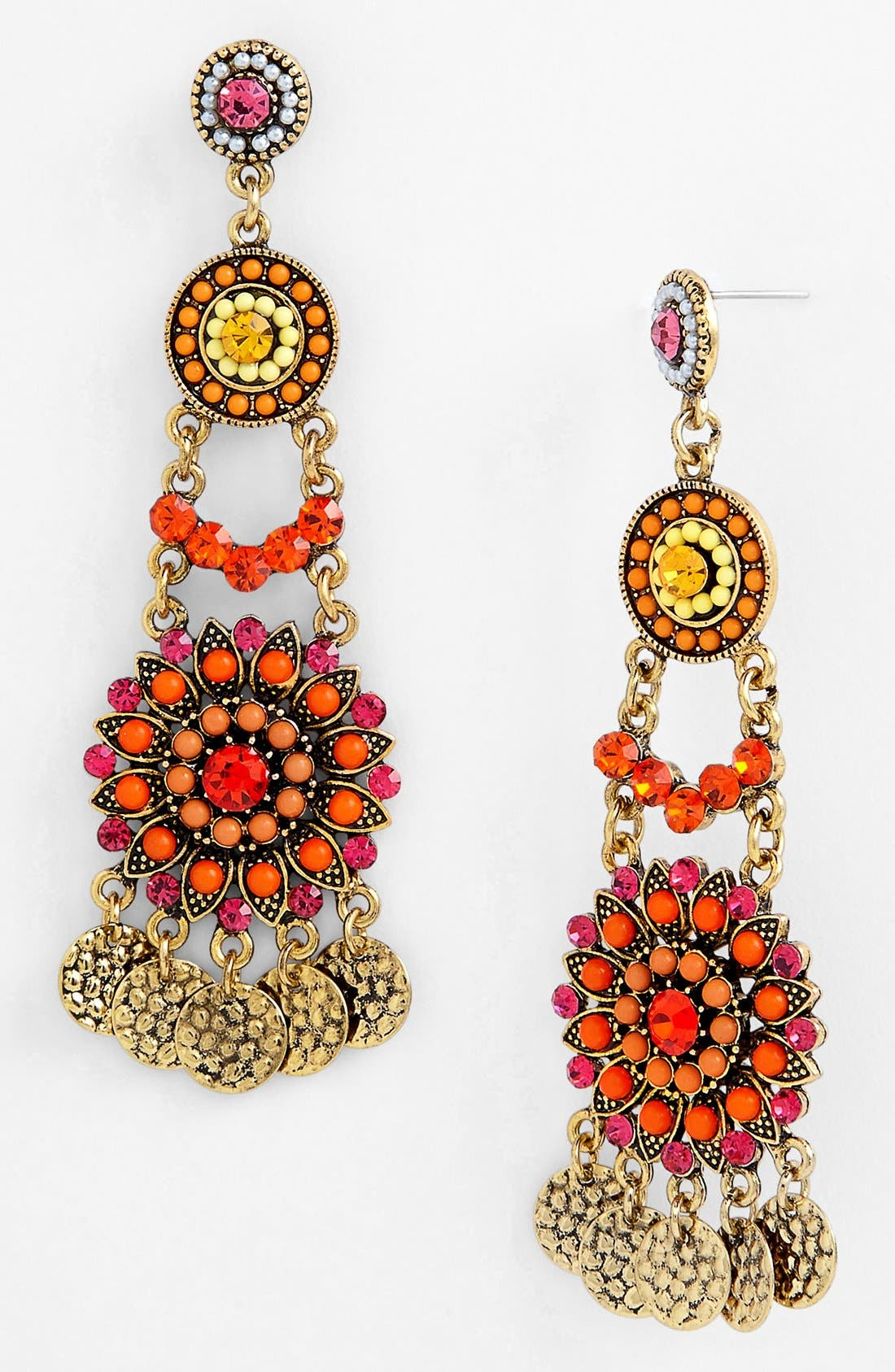 Main Image - Cara Chandelier Earrings