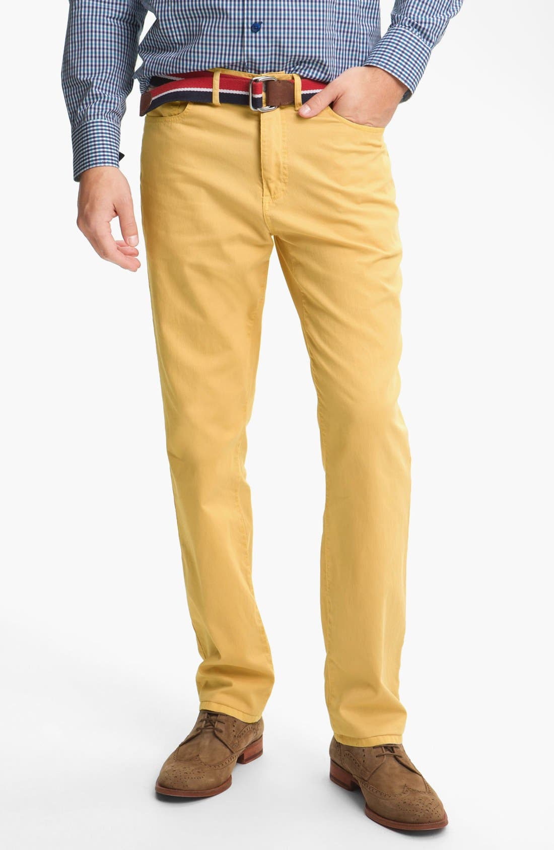 Alternate Image 1 Selected - Grayers Five Pocket Straight Leg Pants