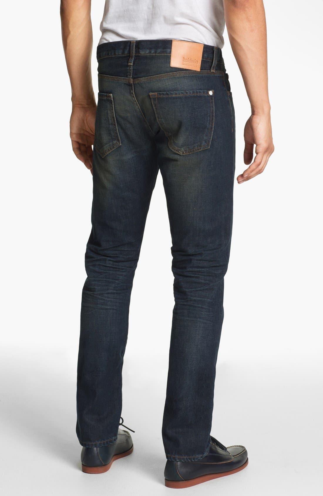 Main Image - Baldwin 'Henley' Slim Tapered Leg Jeans (David)