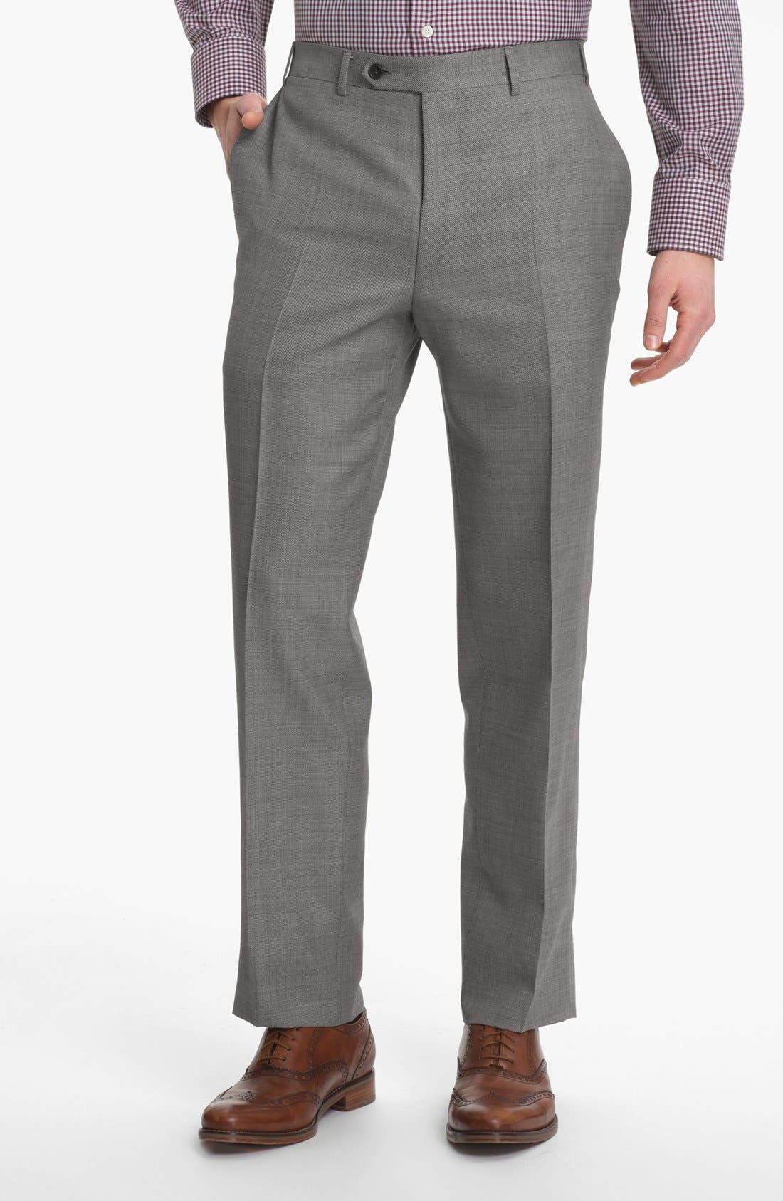 Alternate Image 5  - Canali Wool Blend Suit