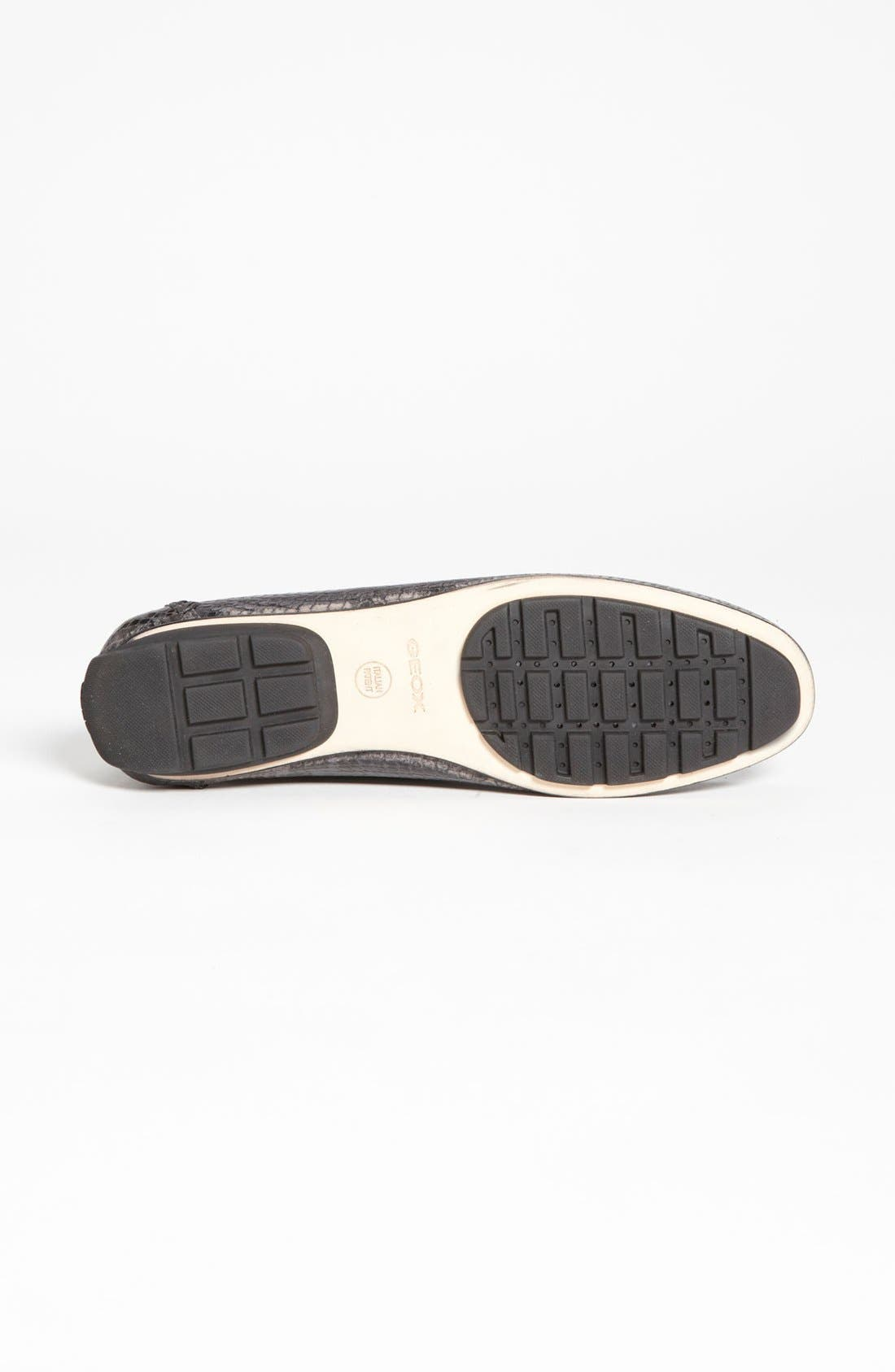 Alternate Image 4  - Geox 'Italy' Snake Embossed Moccasin (Online Only Color)