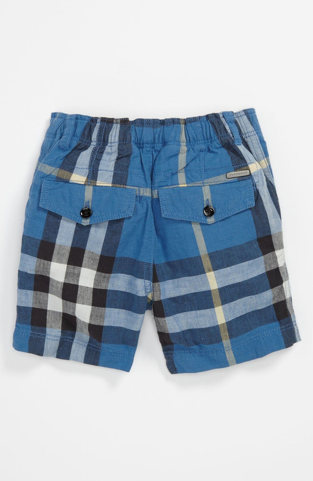 Alternate Image 2  - Burberry 'Mini Scout' Shorts (Toddler)