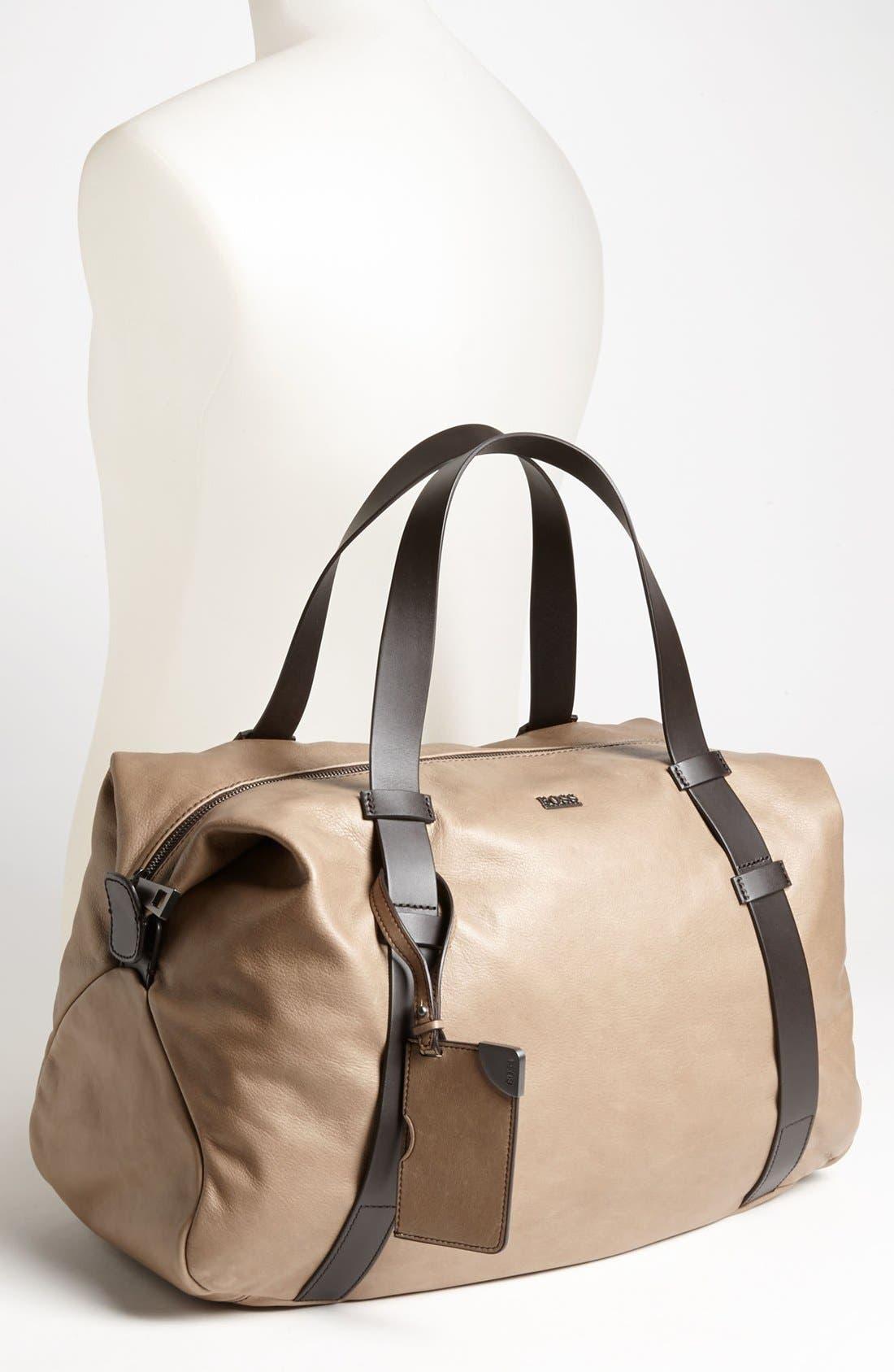 Alternate Image 4  - BOSS Black 'Riris' Duffel Bag