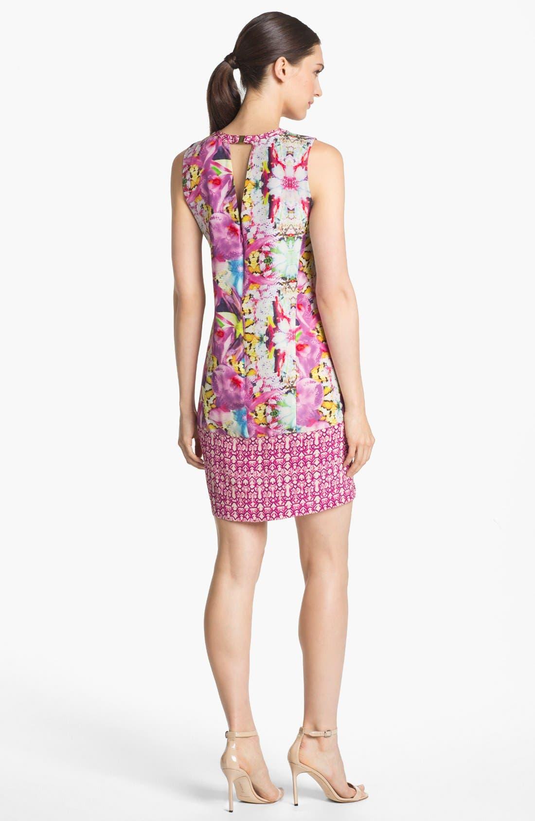 Alternate Image 2  - Rachel Roy Silk Shift Dress