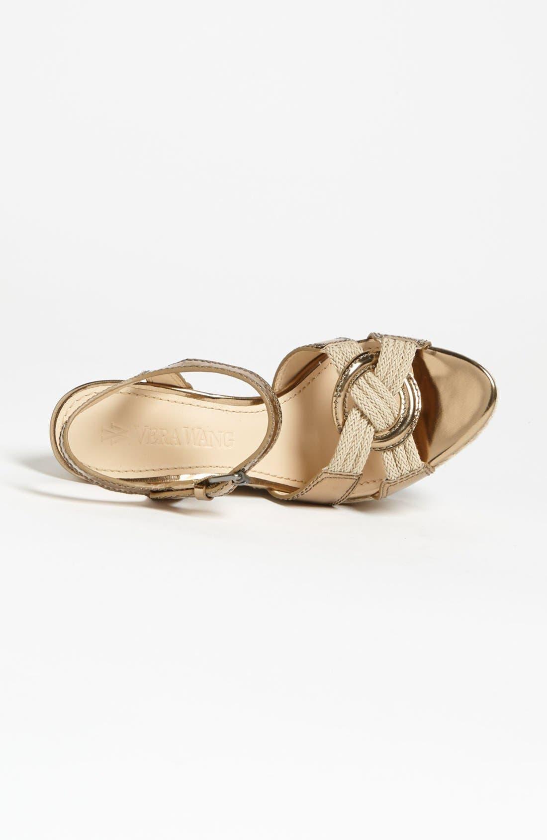 Alternate Image 3  - Vera Wang Footwear 'Tamarind' Wedge Sandal (Online Only)