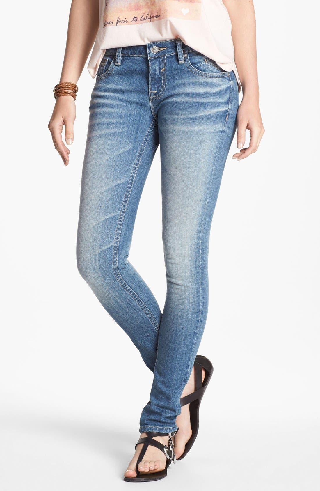Main Image - Vigoss Skinny Jeans (Juniors)