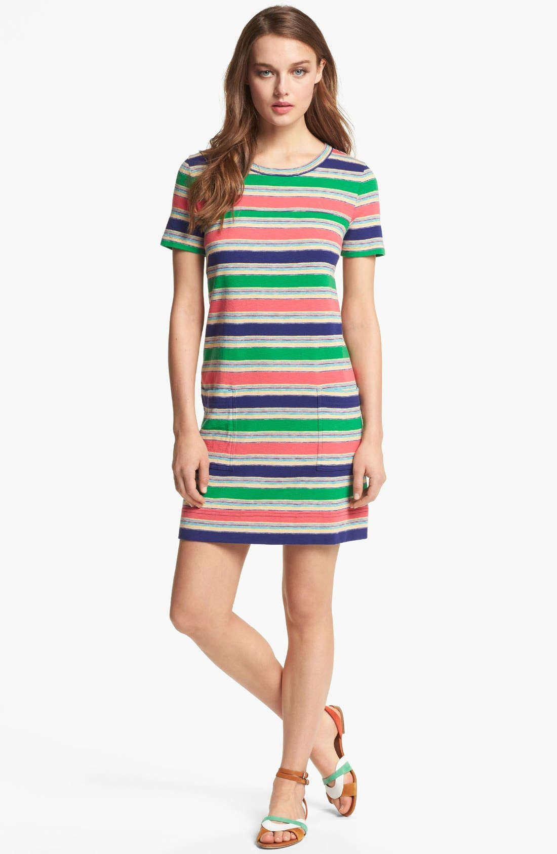 Alternate Image 1 Selected - MARC BY MARC JACOBS 'Mai Tai' Cotton Shift Dress