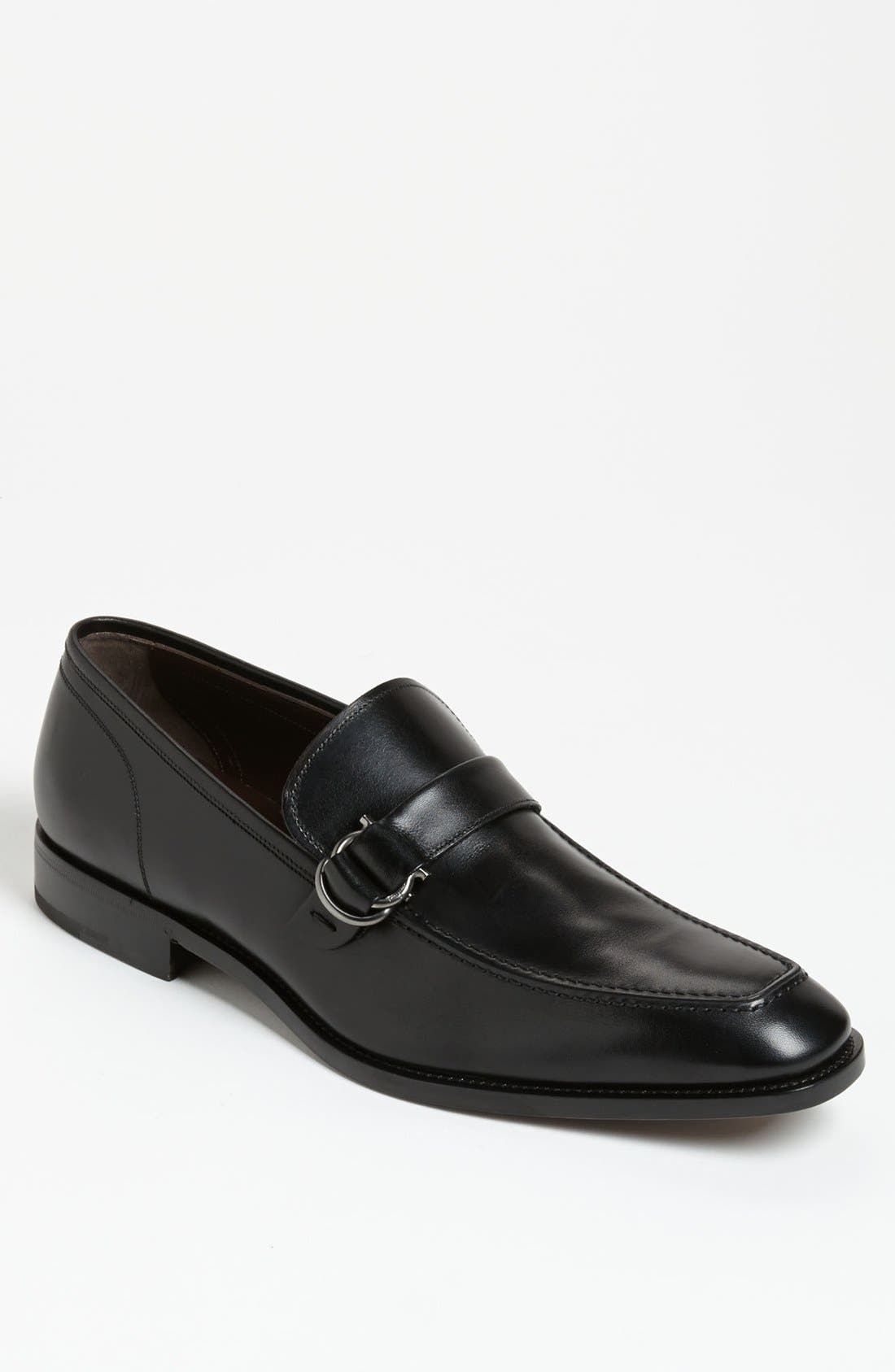 Alternate Image 1 Selected - Salvatore Ferragamo 'Teo' Bit Loafer