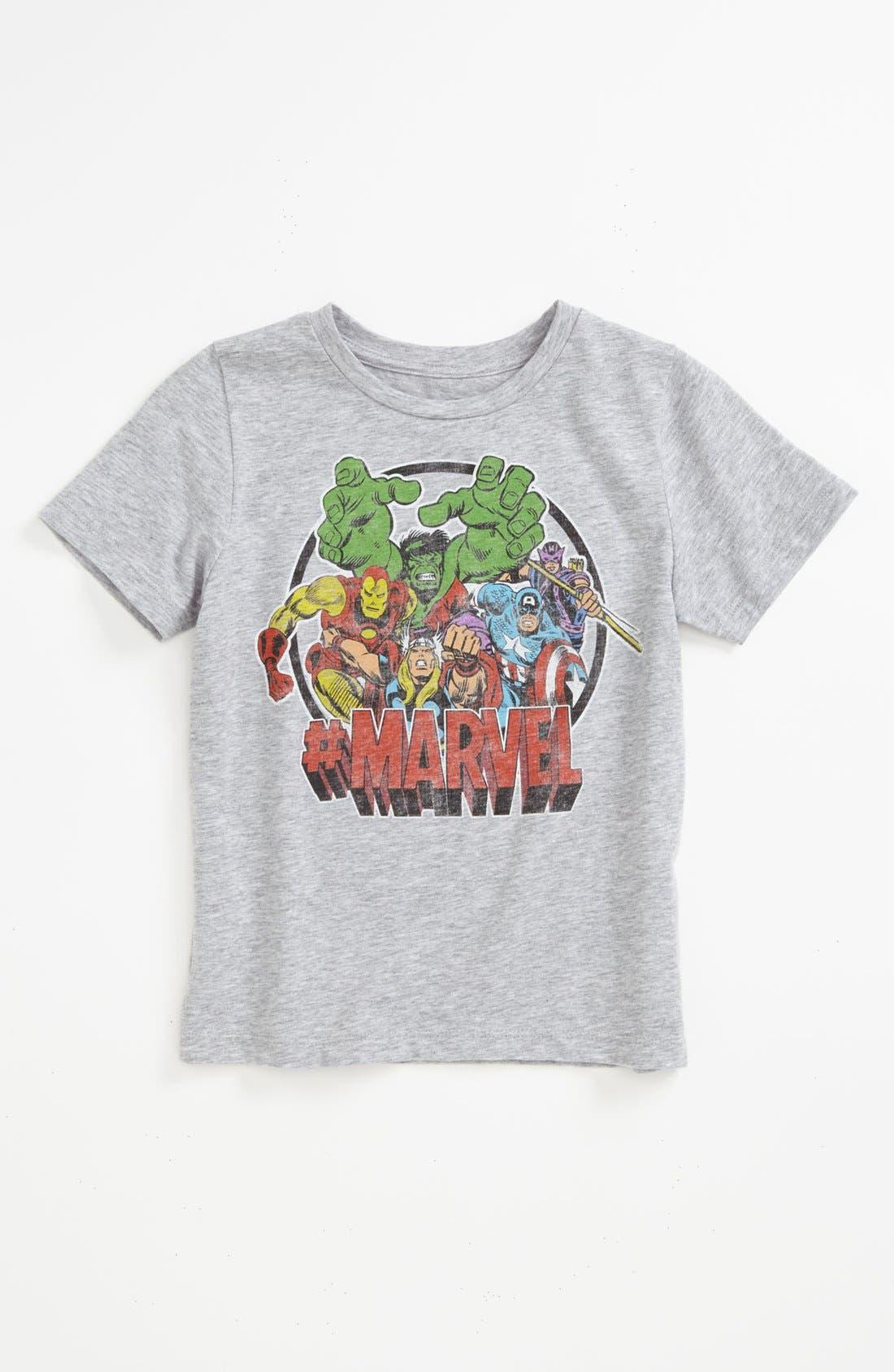 Main Image - Mighty Fine 'Marvel®' T-Shirt (Little Boys)