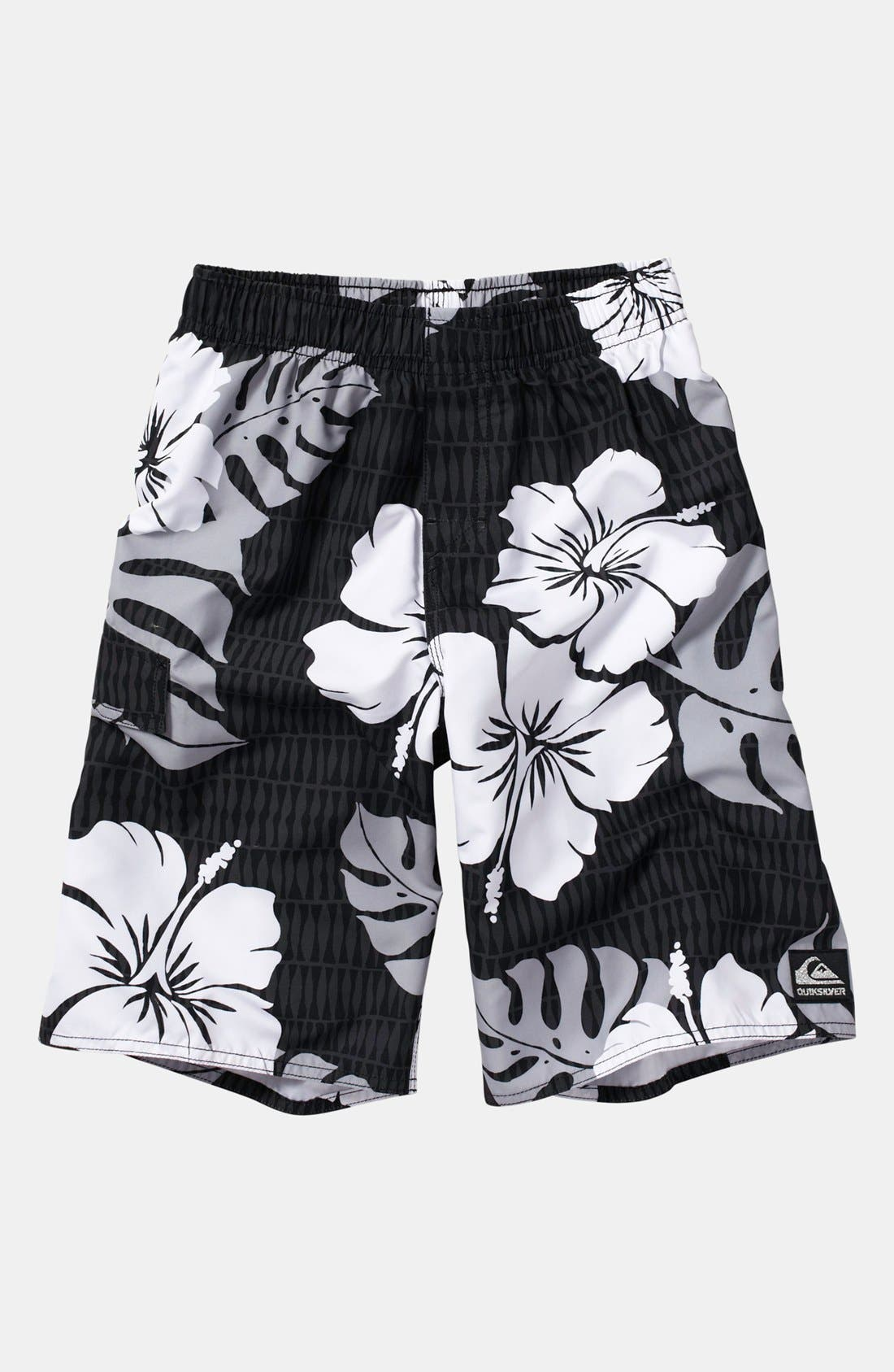Main Image - Quiksilver 'Betta' Volley Shorts (Big Boys)