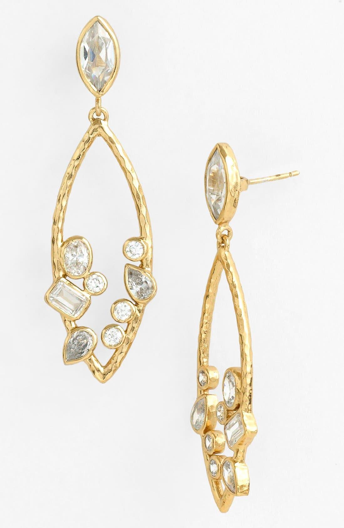 Alternate Image 1 Selected - Melinda Maria 'Beatrice' Open Drop Earrings