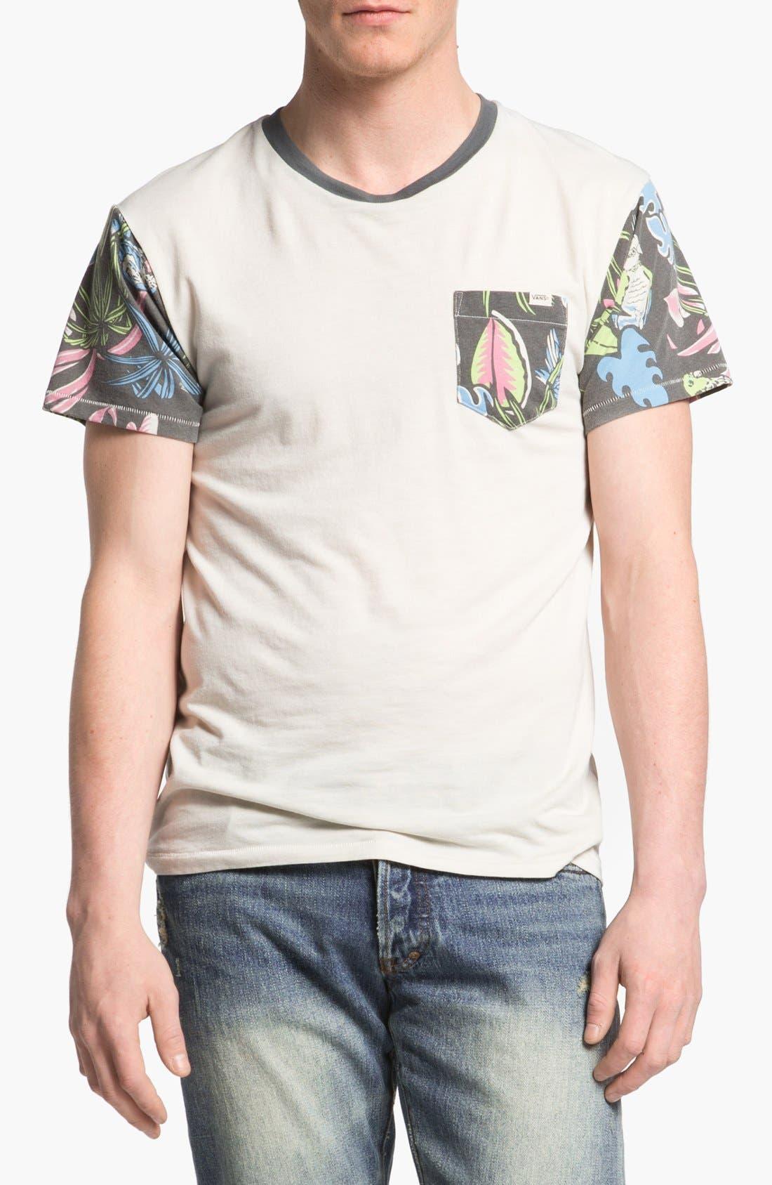 Alternate Image 1 Selected - Vans 'Foster' Pocket T-Shirt