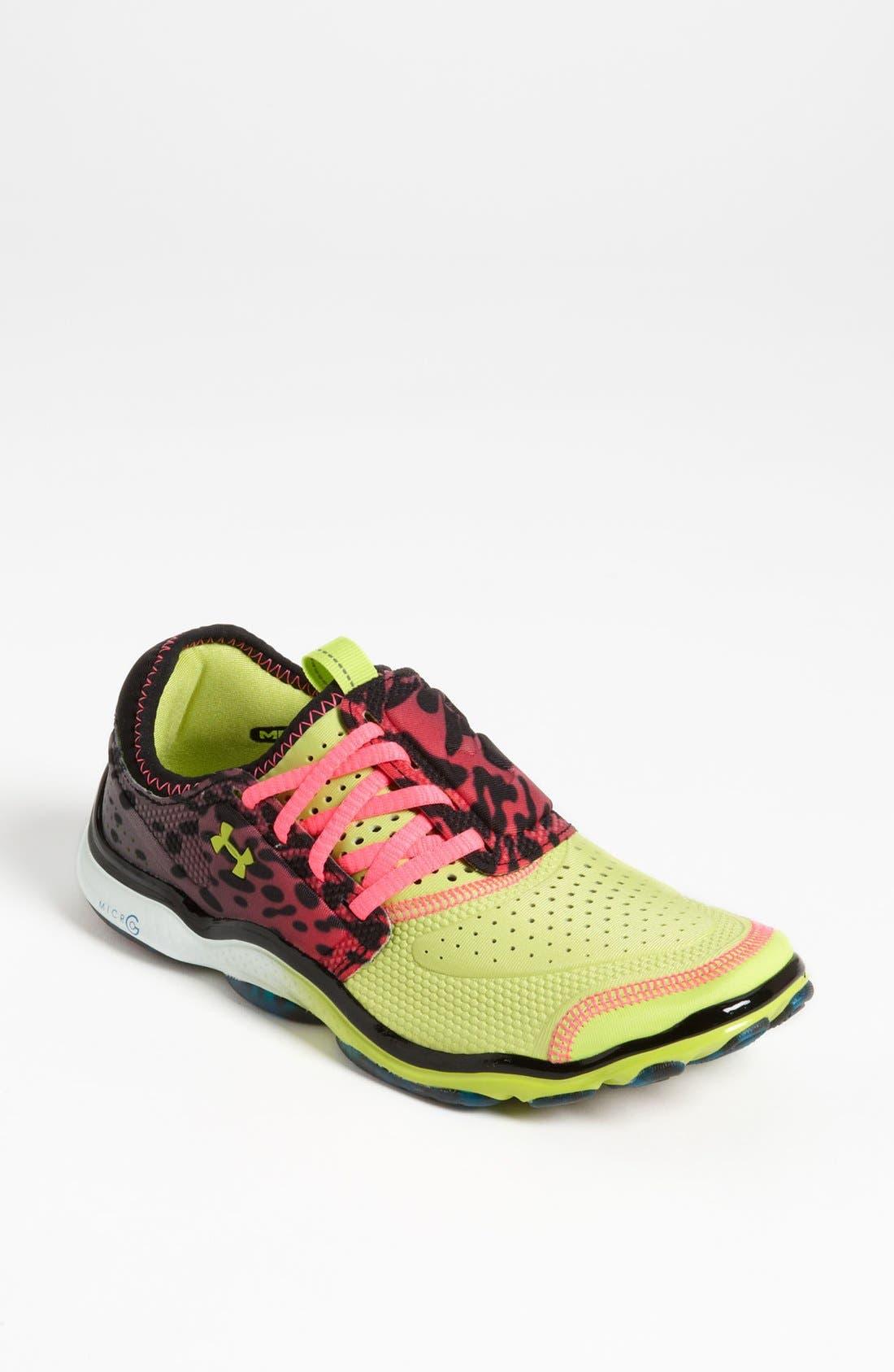 Main Image - Under Armour 'Micro G® Toxic' Running Shoe (Women)