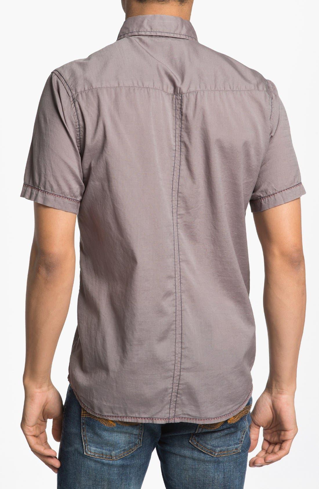 Alternate Image 2  - Jeremiah 'Rogan' Short Sleeve Sport Shirt