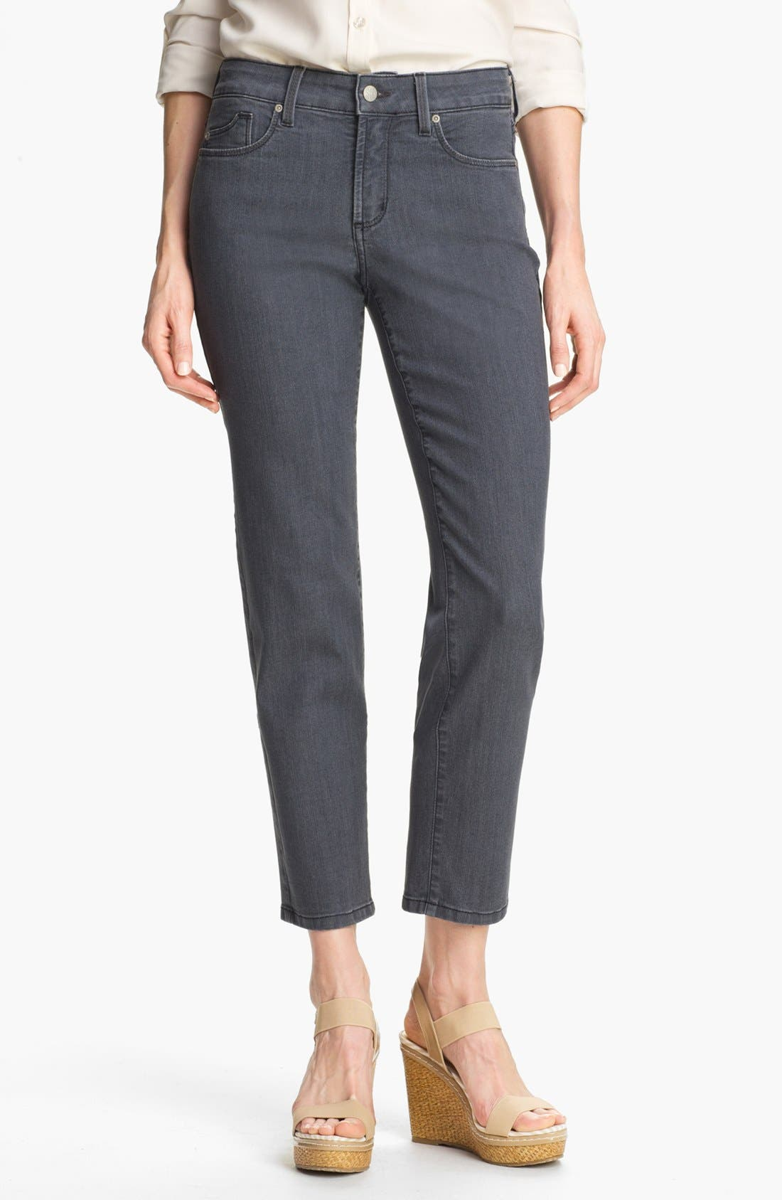Alternate Image 1 Selected - NYDJ 'Alisha' Skinny Stretch Ankle Jeans