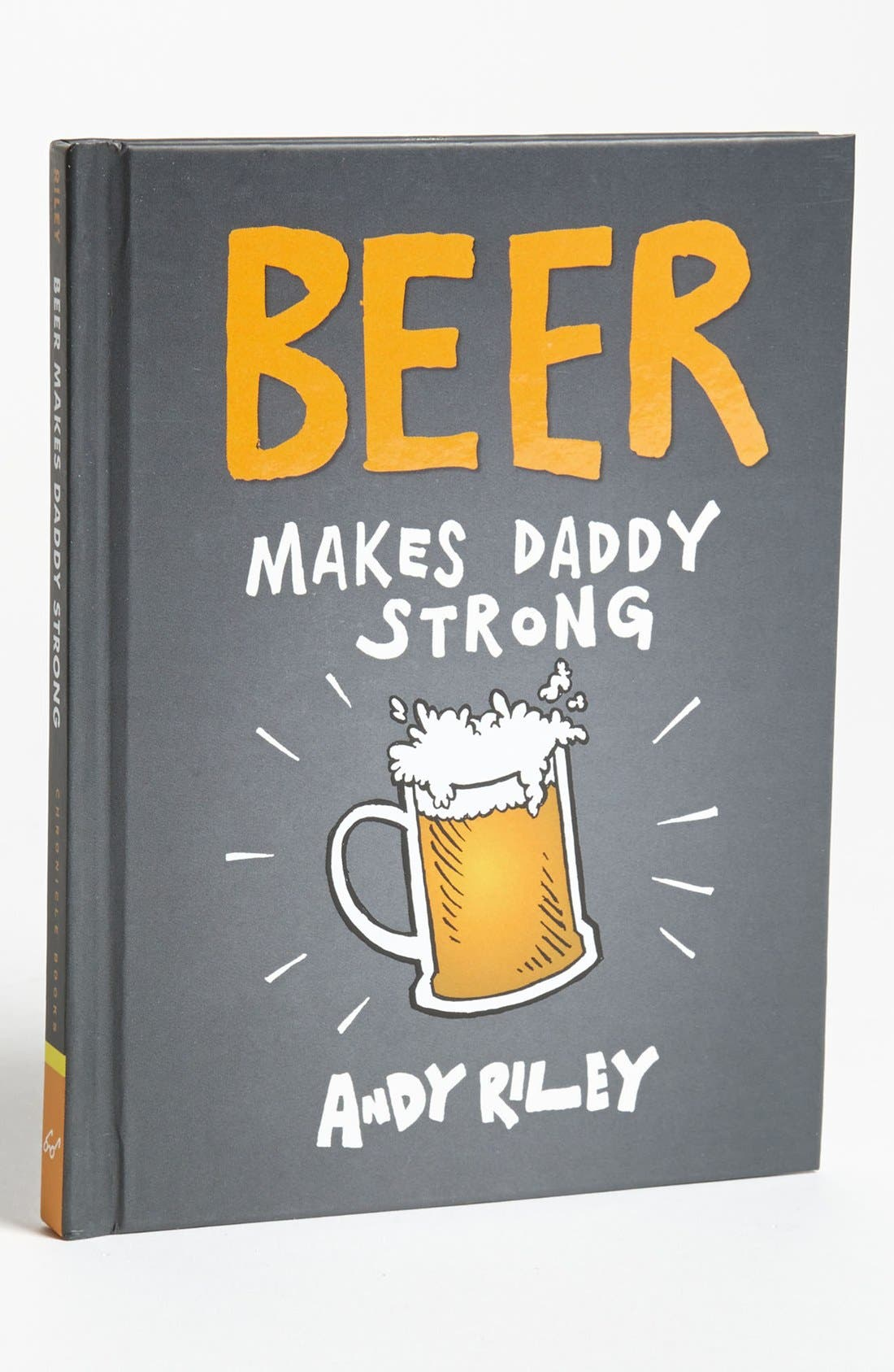 Alternate Image 1 Selected - 'Beer Makes Daddy Stronger' Novelty Book