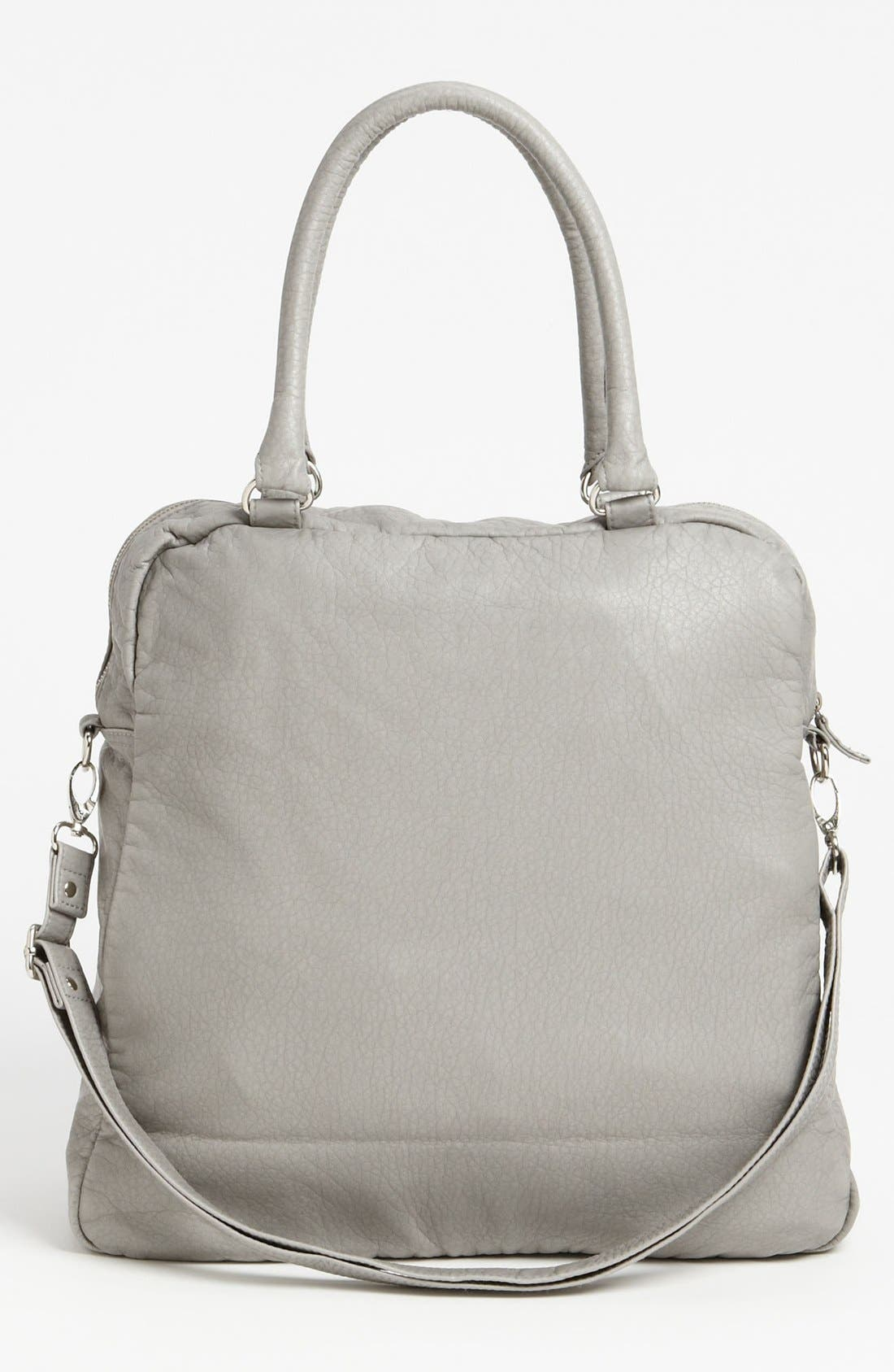Alternate Image 4  - Topshop Washed Faux Leather Satchel