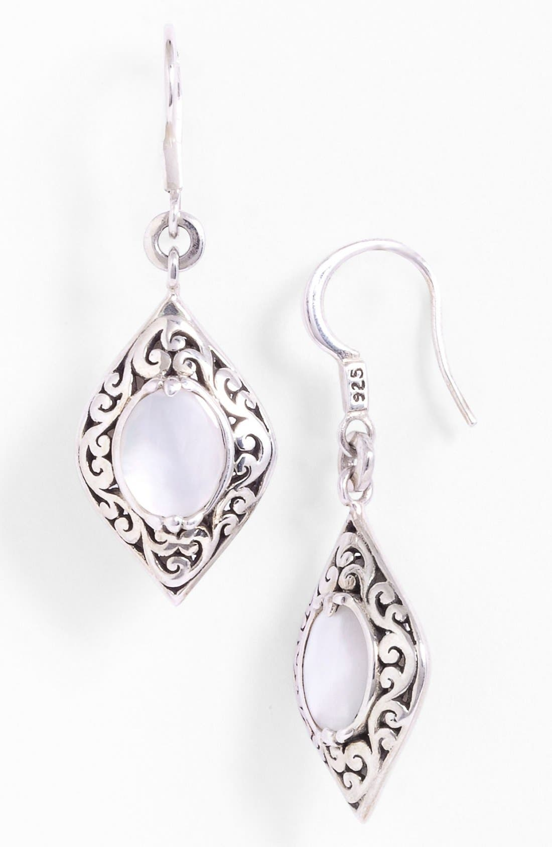 Alternate Image 1 Selected - Lois Hill Mother-of-Pearl Drop Earrings