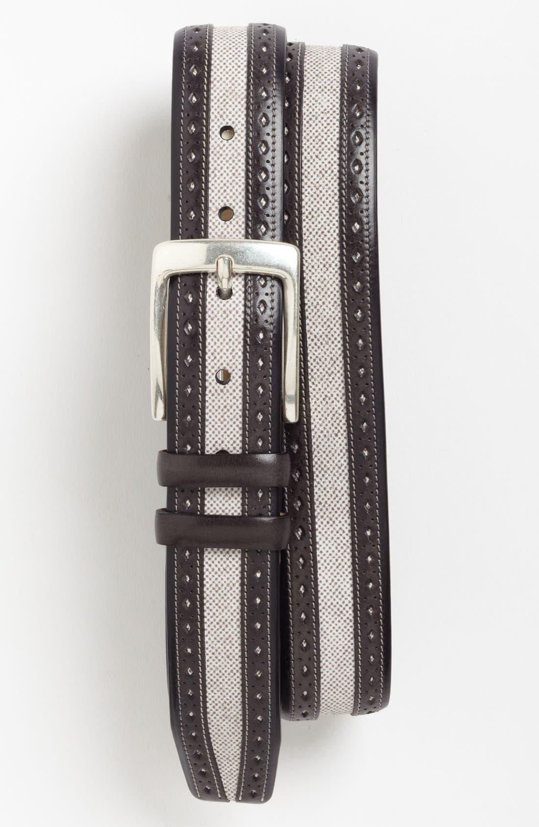 Alternate Image 1 Selected - Mezlan 'Pernice' Belt