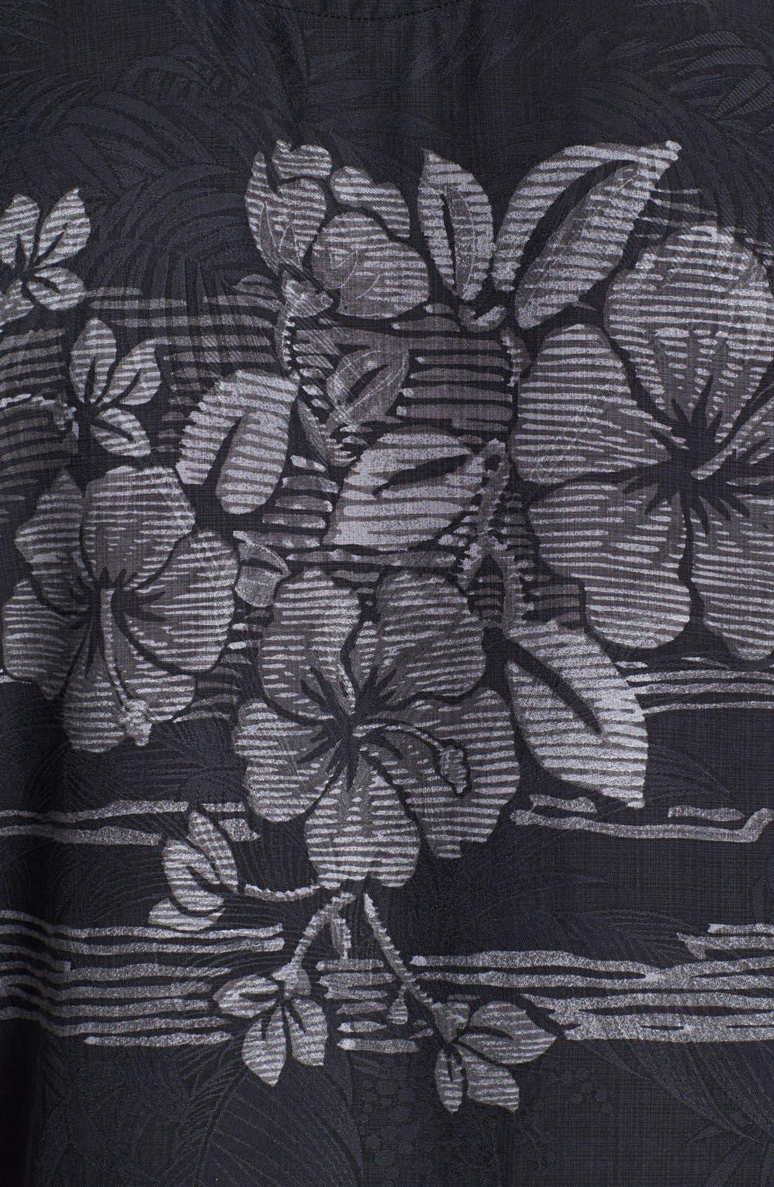 Alternate Image 3  - Tommy Bahama 'Hibiscus Fade Away' Campshirt