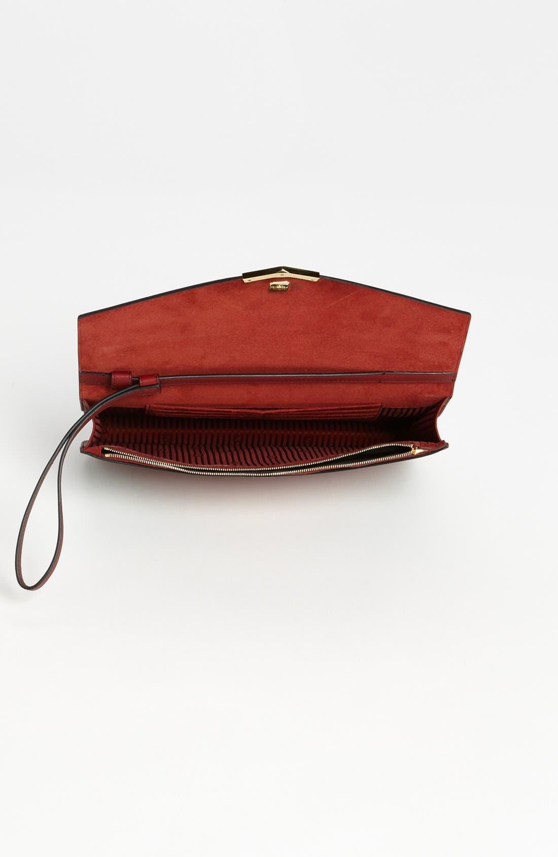 Alternate Image 3  - Fendi '2Jours Colorblock' Leather Clutch