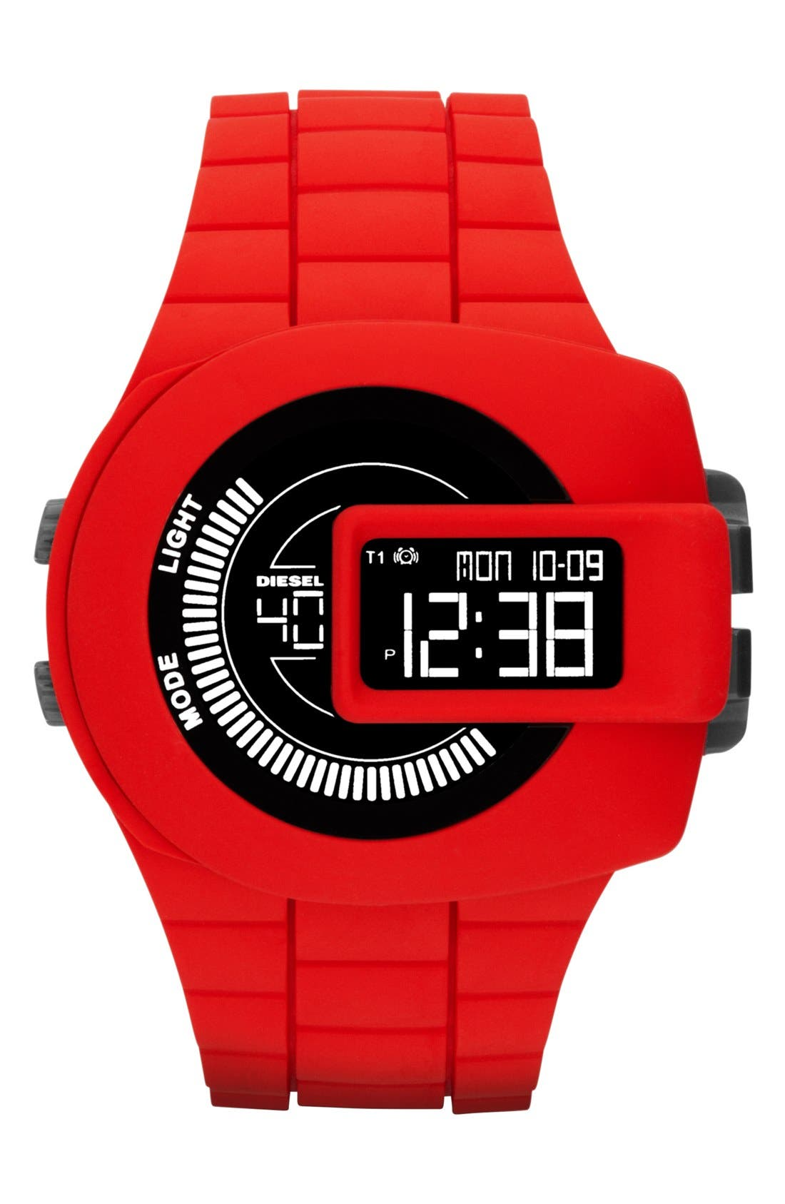 Alternate Image 1 Selected - DIESEL® 'Viewfinder' Digital Watch, 43mm x 52mm