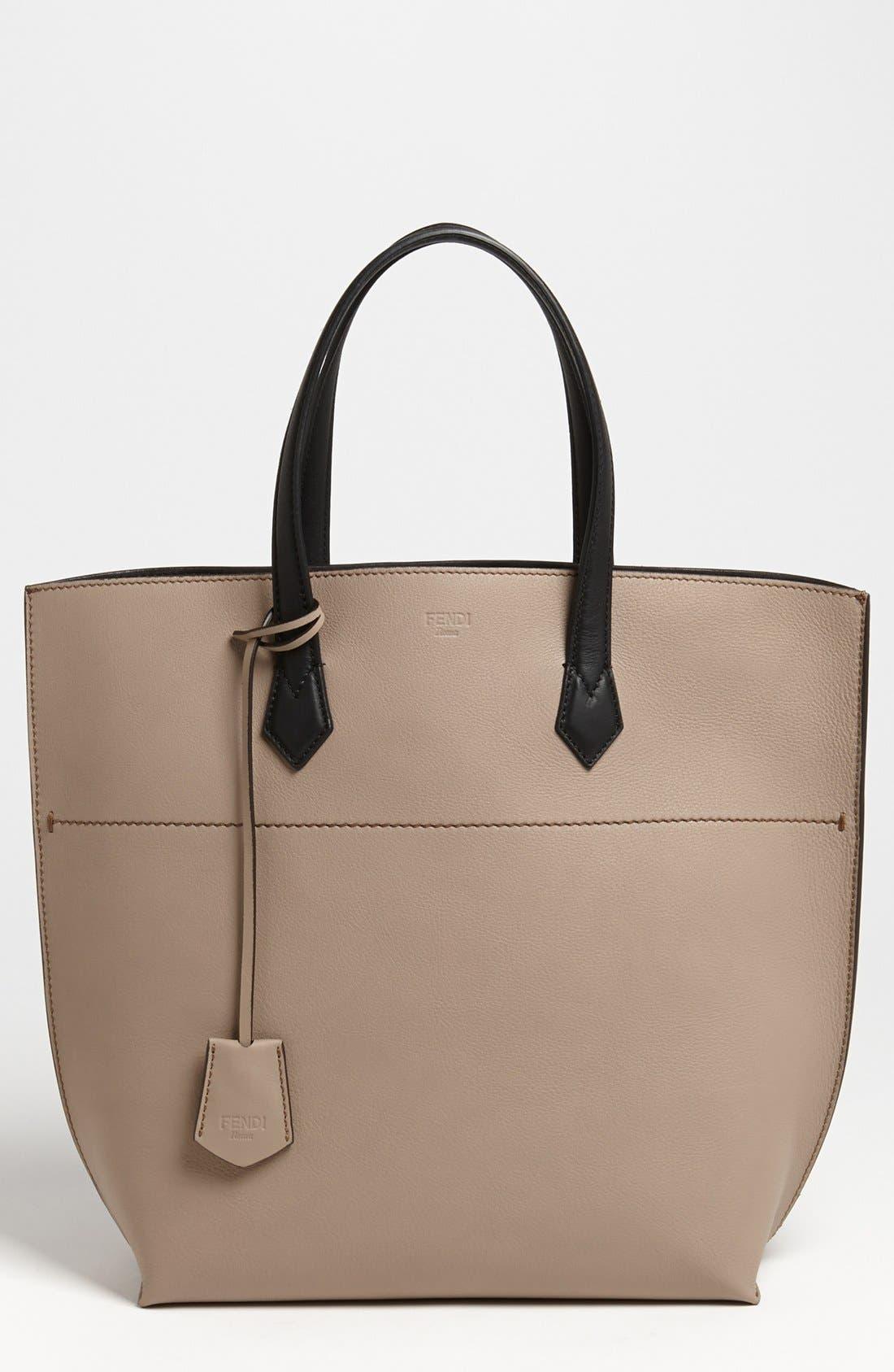 Main Image - Fendi 'All In' Leather Shopper