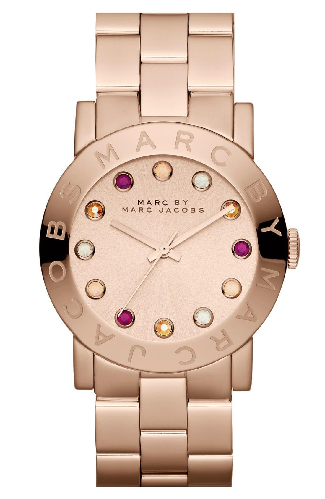 Main Image - MARC JACOBS 'Amy' Bracelet Watch, 37mm
