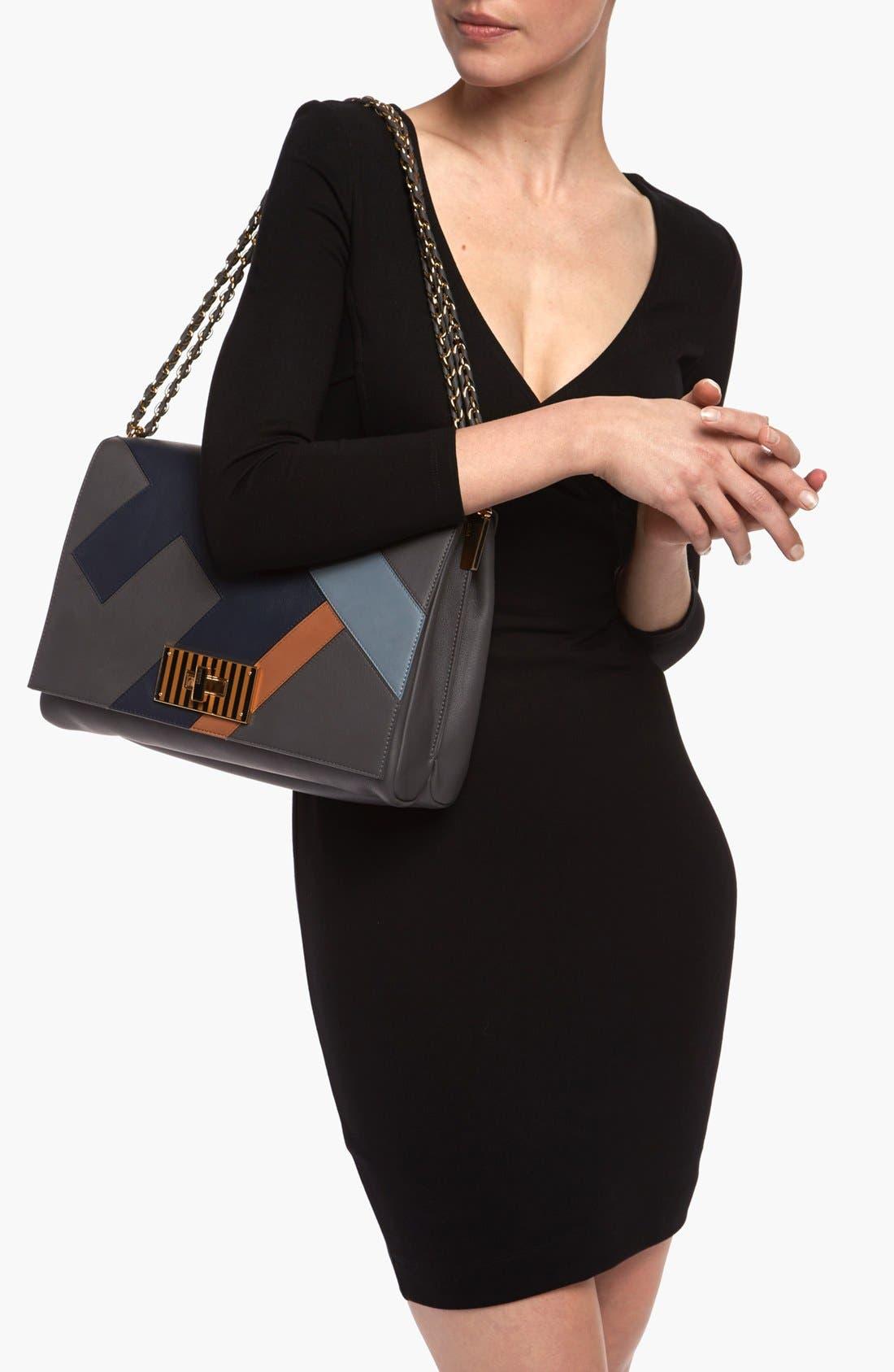 Alternate Image 2  - Fendi 'Claudia - Medium' Leather Shoulder Bag