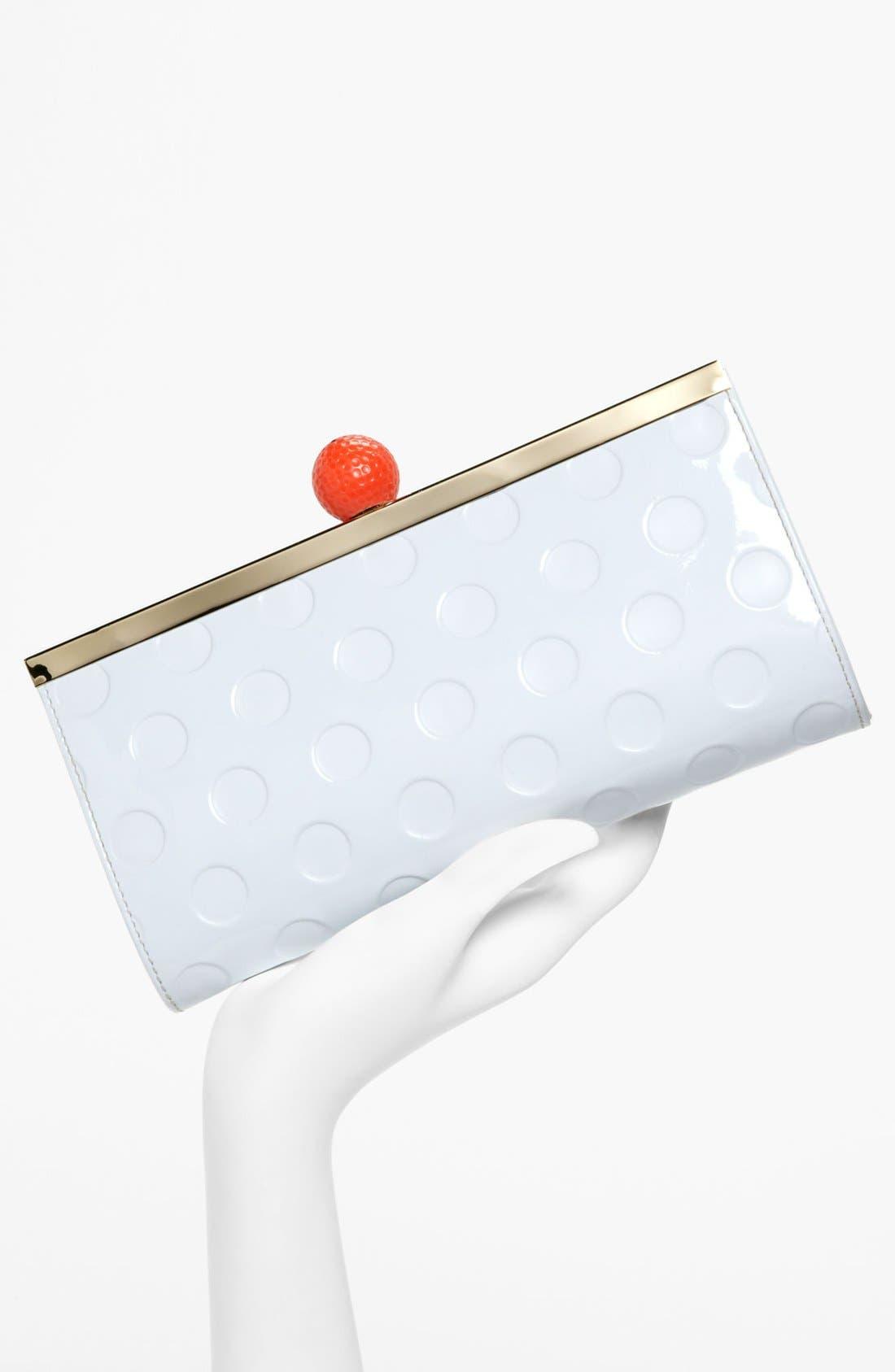 Alternate Image 2  - kate spade new york 'on par - florez' faux patent clutch