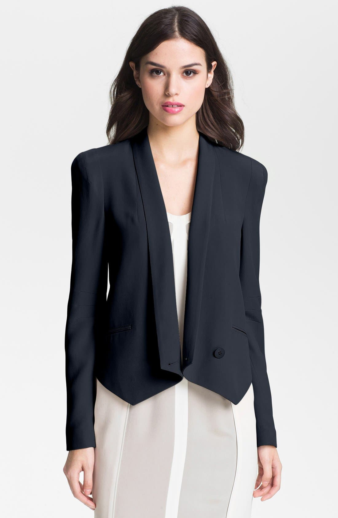 Alternate Image 1 Selected - Rebecca Minkoff 'Becky' Silk Jacket