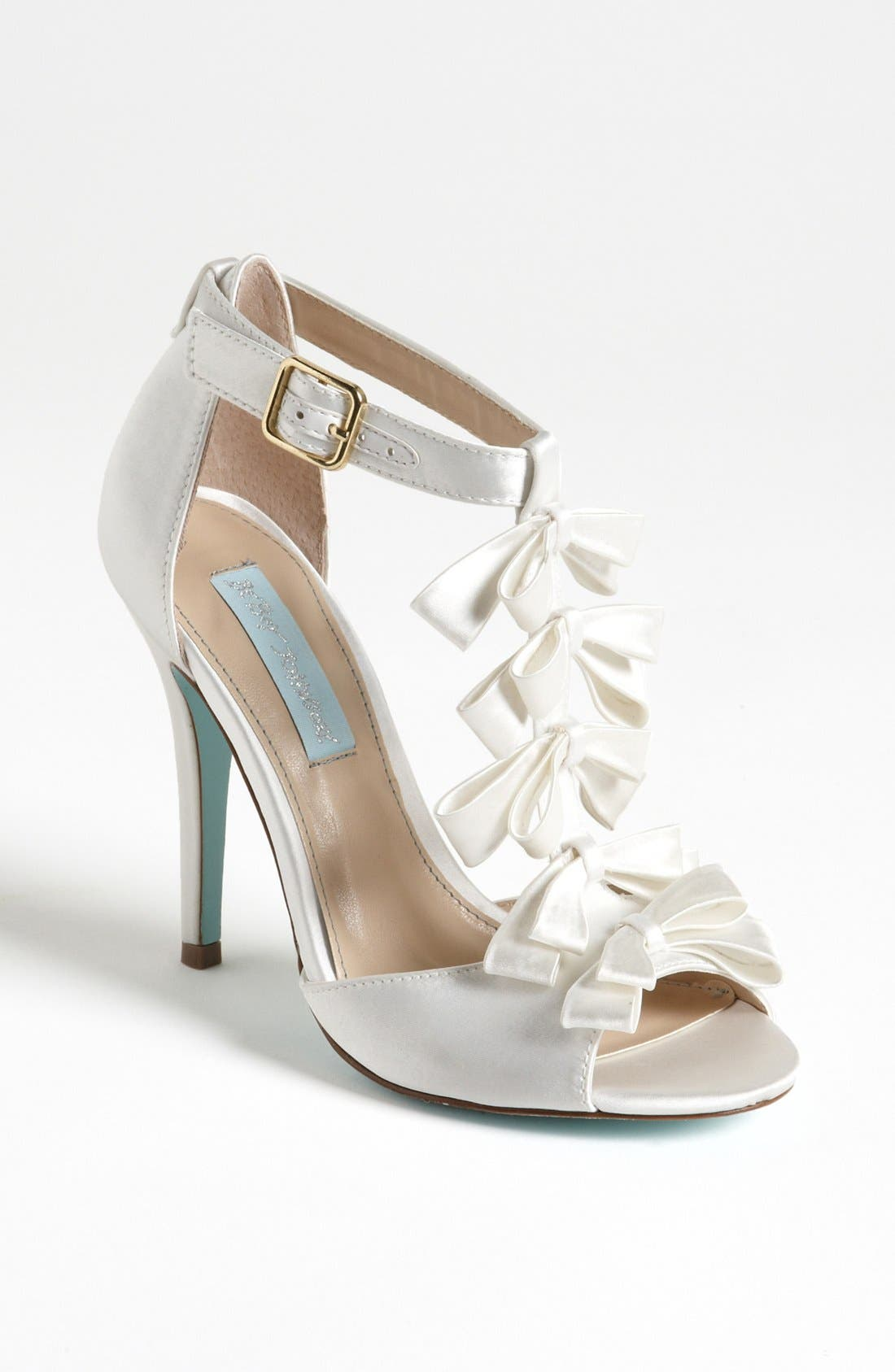 Alternate Image 1 Selected - Blue by Betsey Johnson 'Knot' Sandal