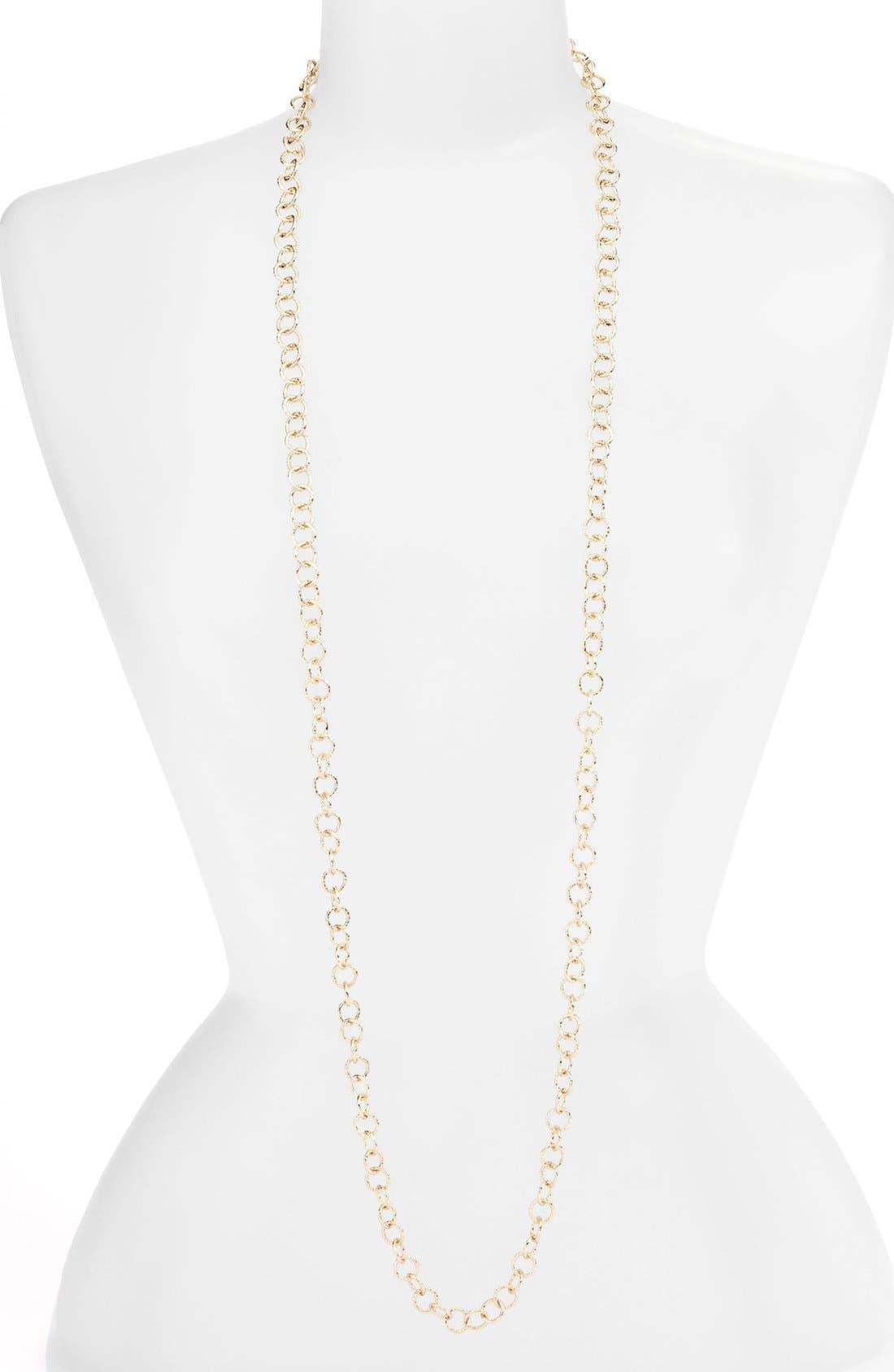 Alternate Image 2  - Nordstrom Extra Long Link Necklace
