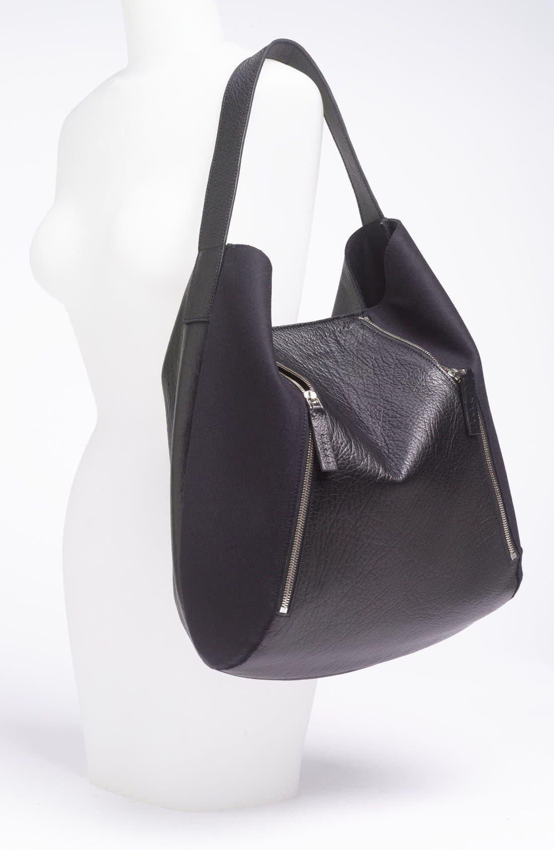 Alternate Image 2  - Marni Bicolor Leather & Fabric Hobo