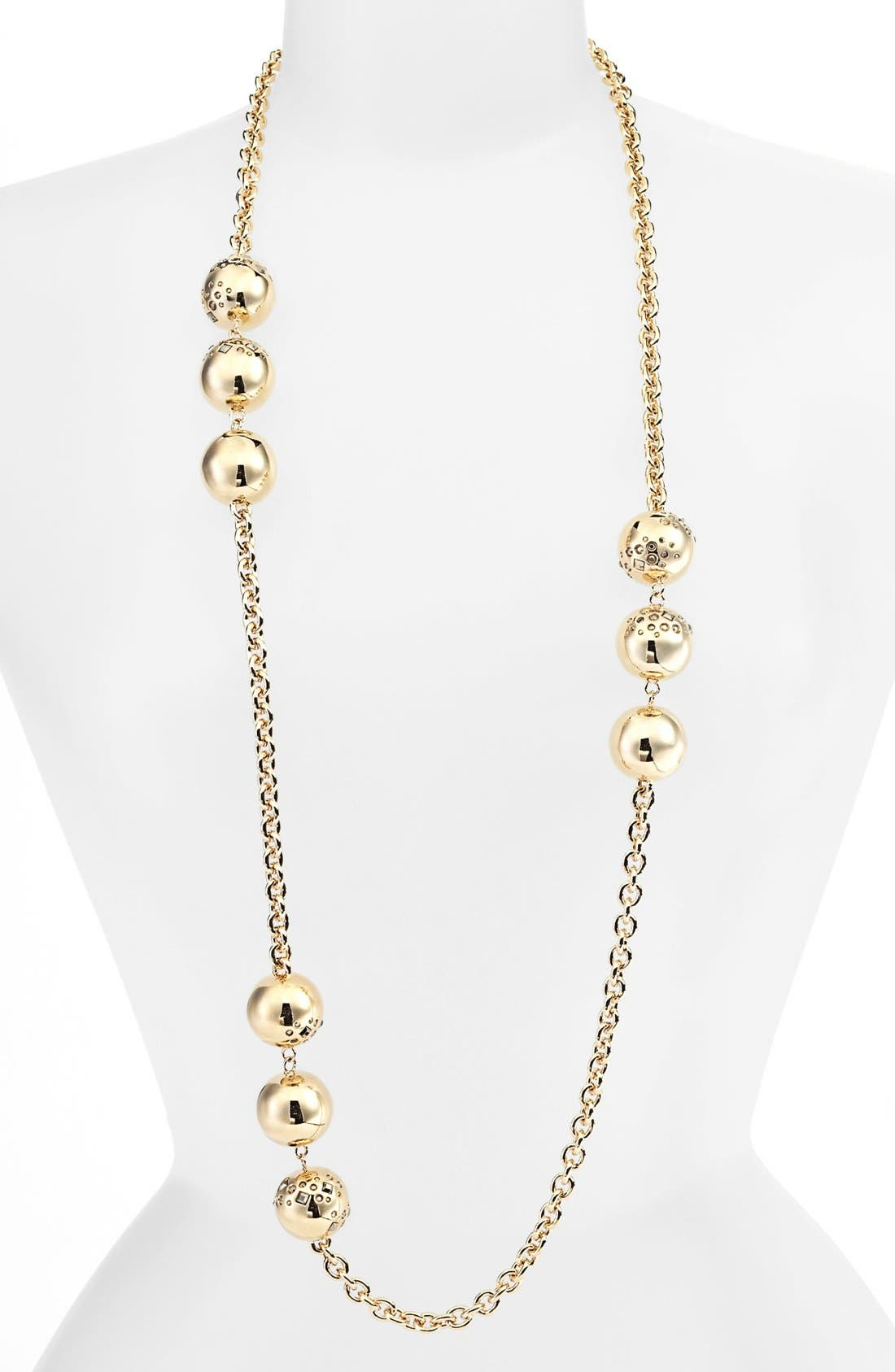 Alternate Image 1 Selected - St. John Collection Long Bead Station Necklace