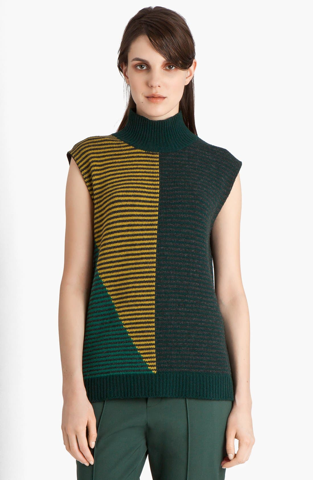 Alternate Image 1 Selected - Marni Multistripe Wool & Cashmere Sweater
