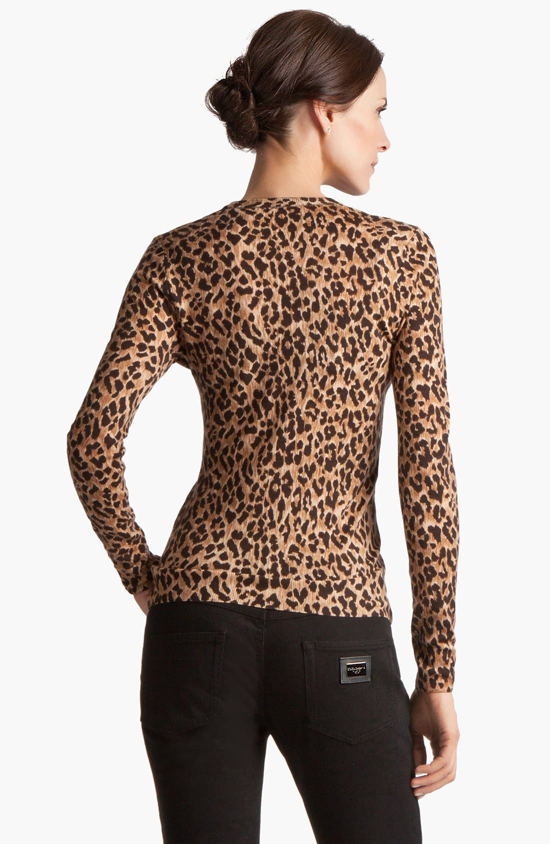 Alternate Image 3  - Dolce&Gabbana Extra Fine Wool Cardigan
