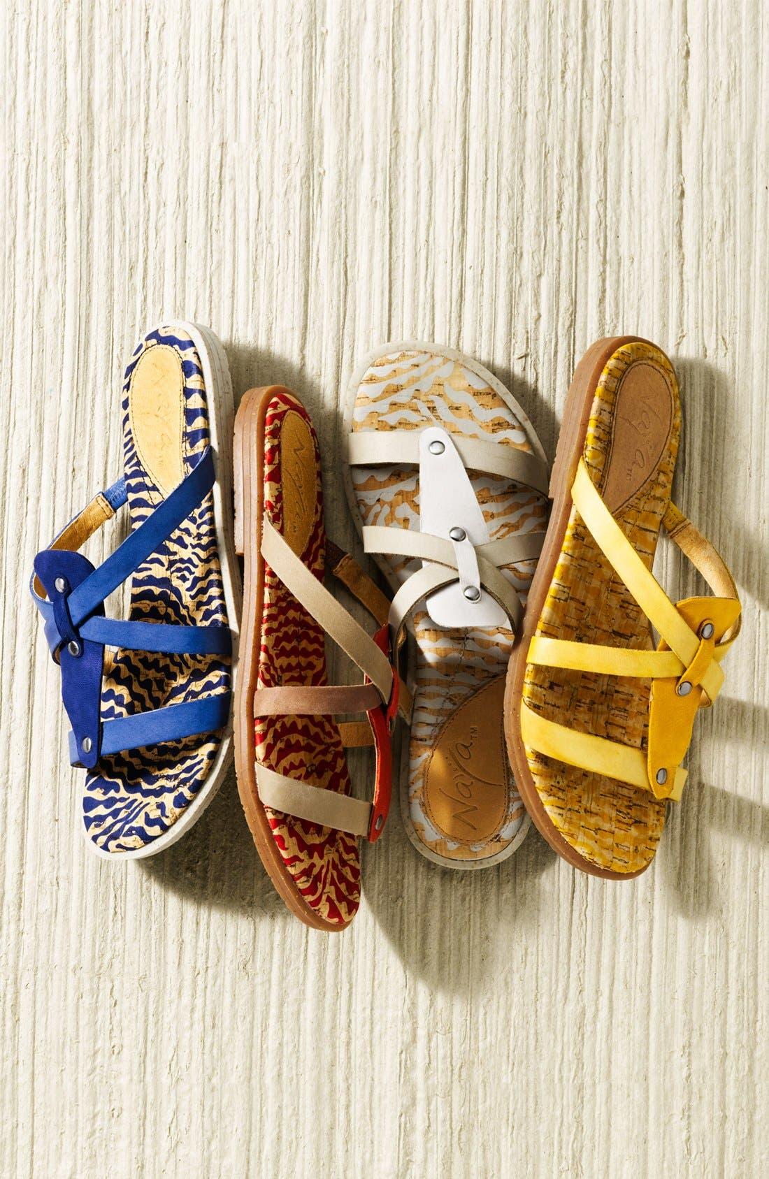Alternate Image 5  - Naya 'Painted Sock' Sandal