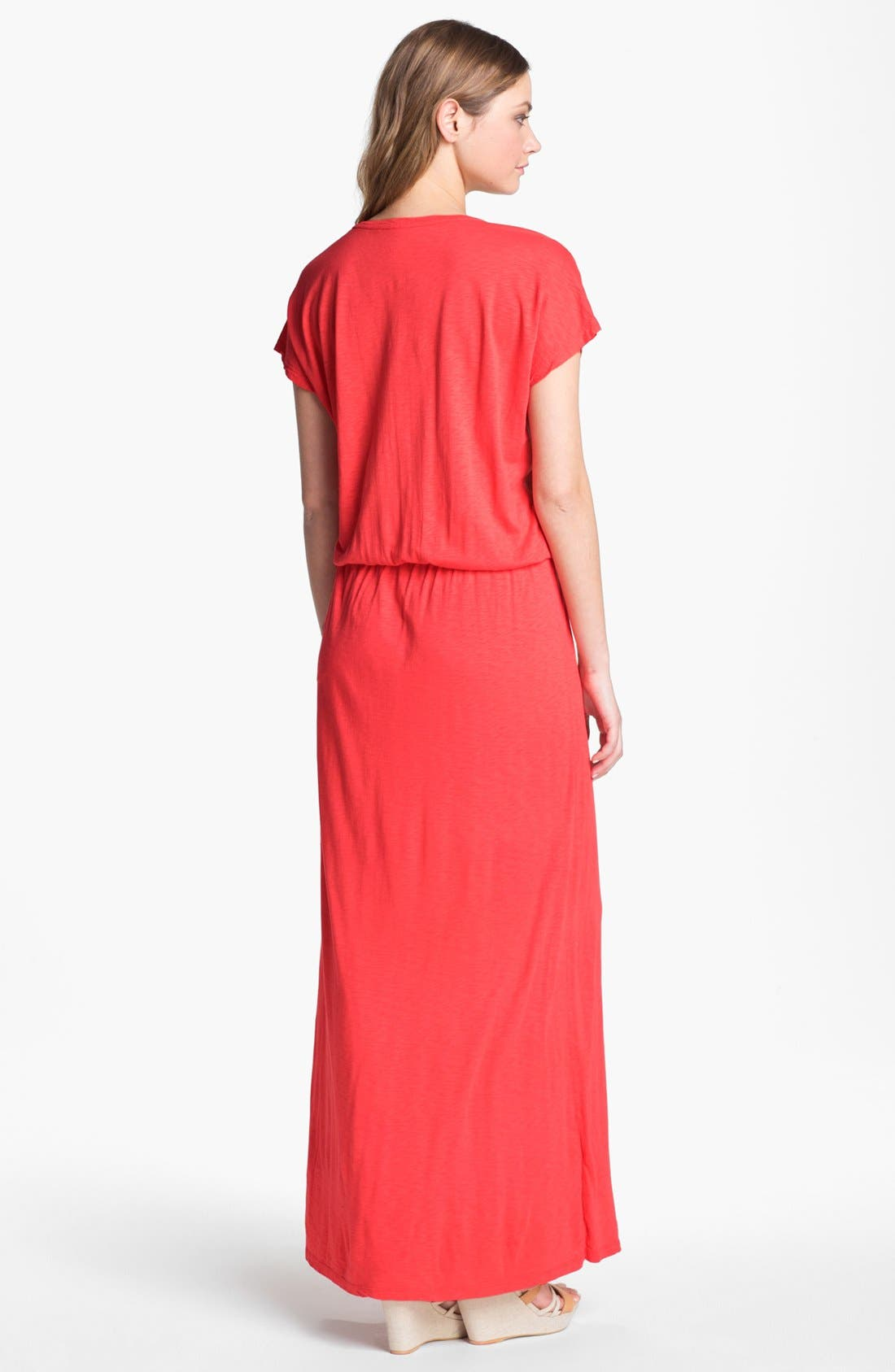 Alternate Image 2  - Velvet by Graham & Spencer Blouson Maxi Dress