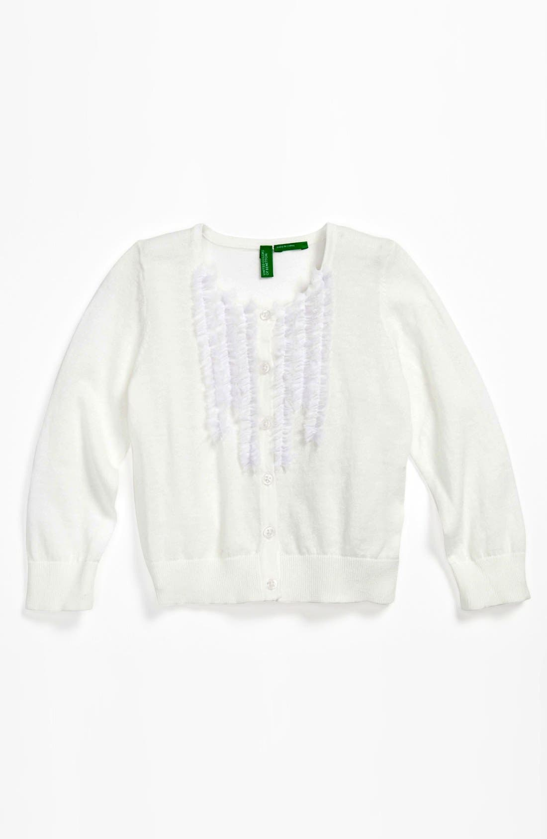 Main Image - United Colors of Benetton Kids Cardigan (Toddler)