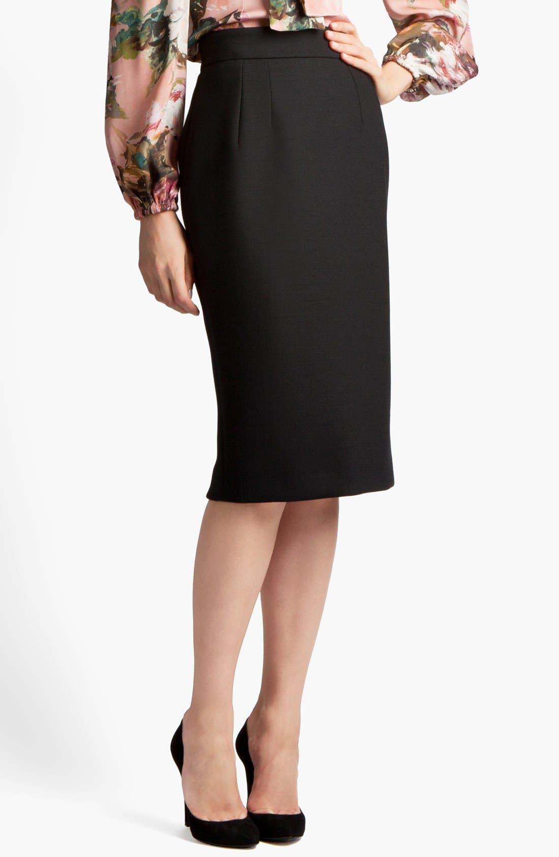 Alternate Image 1 Selected - Dolce&Gabbana Pencil Skirt