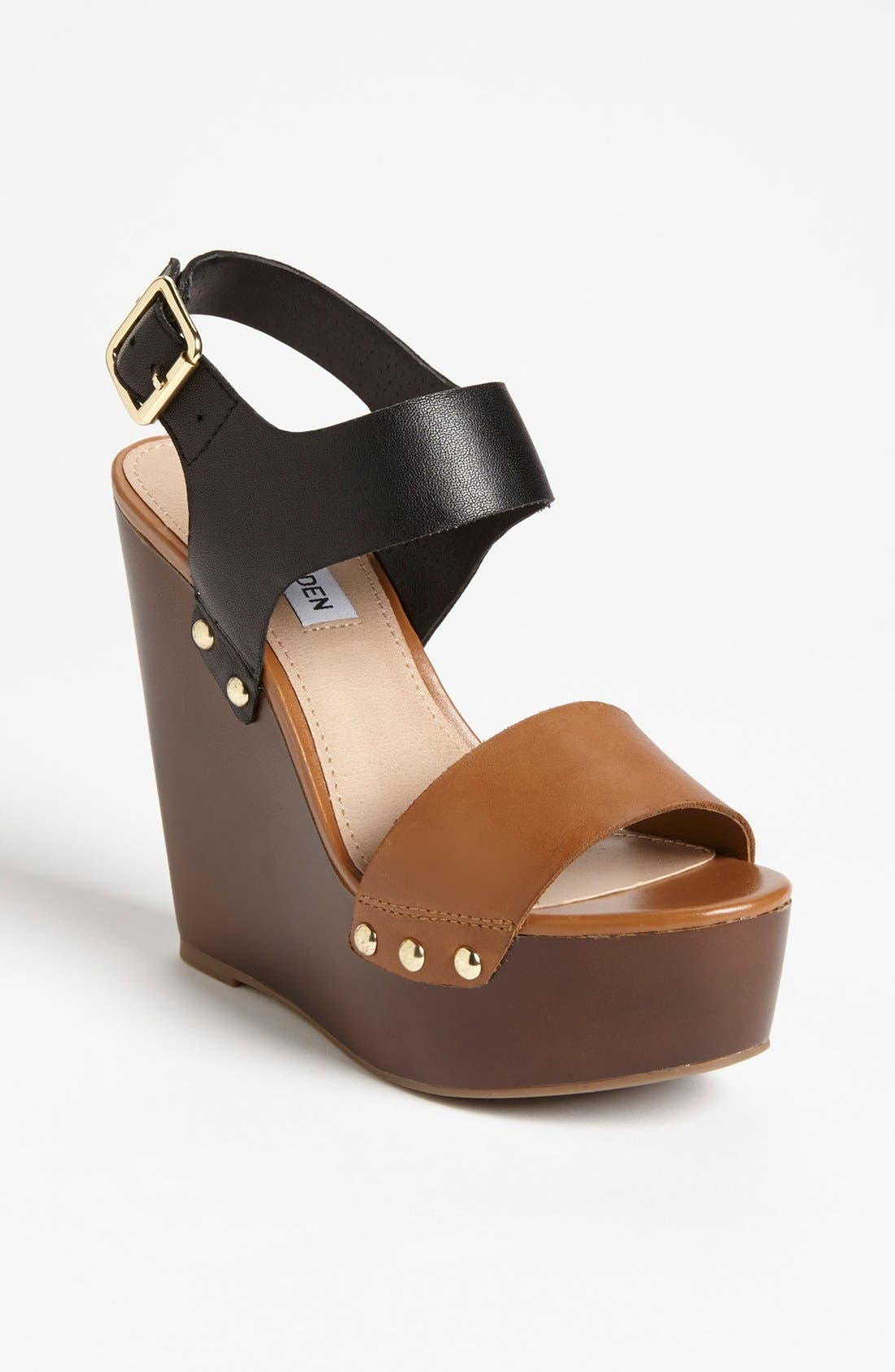 Alternate Image 1 Selected - Steve Madden 'Luucy' Wedge Sandal