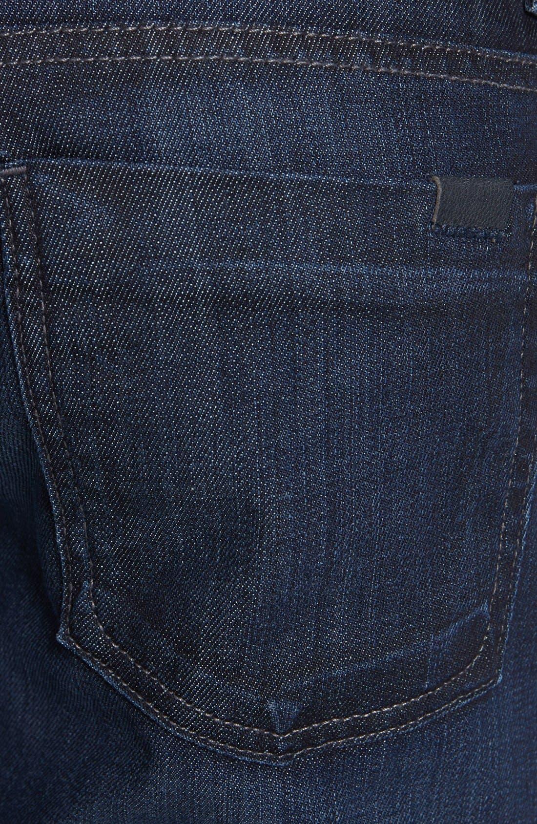 Alternate Image 4  - Fidelity Denim 'Impala' Straight Leg Jeans (Lennon Dark Wash)