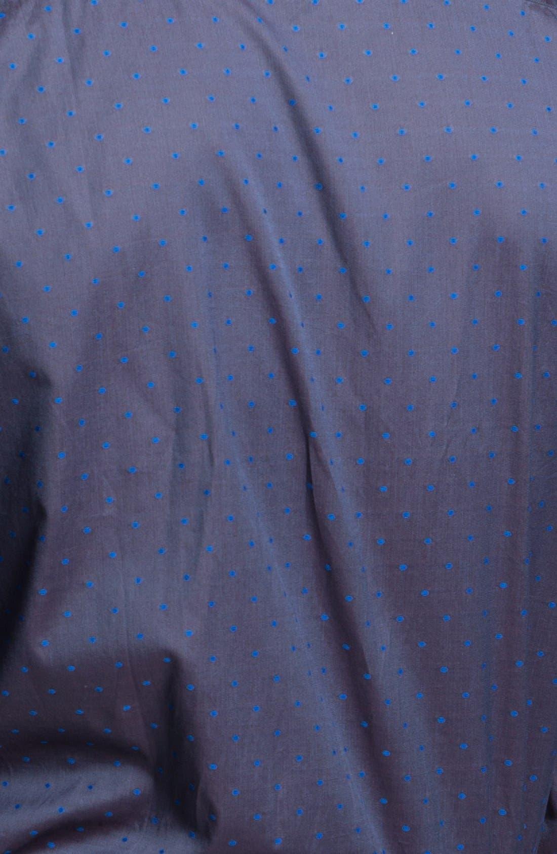 Alternate Image 3  - Paul Smith London Slim Fit Dot Print Dress Shirt
