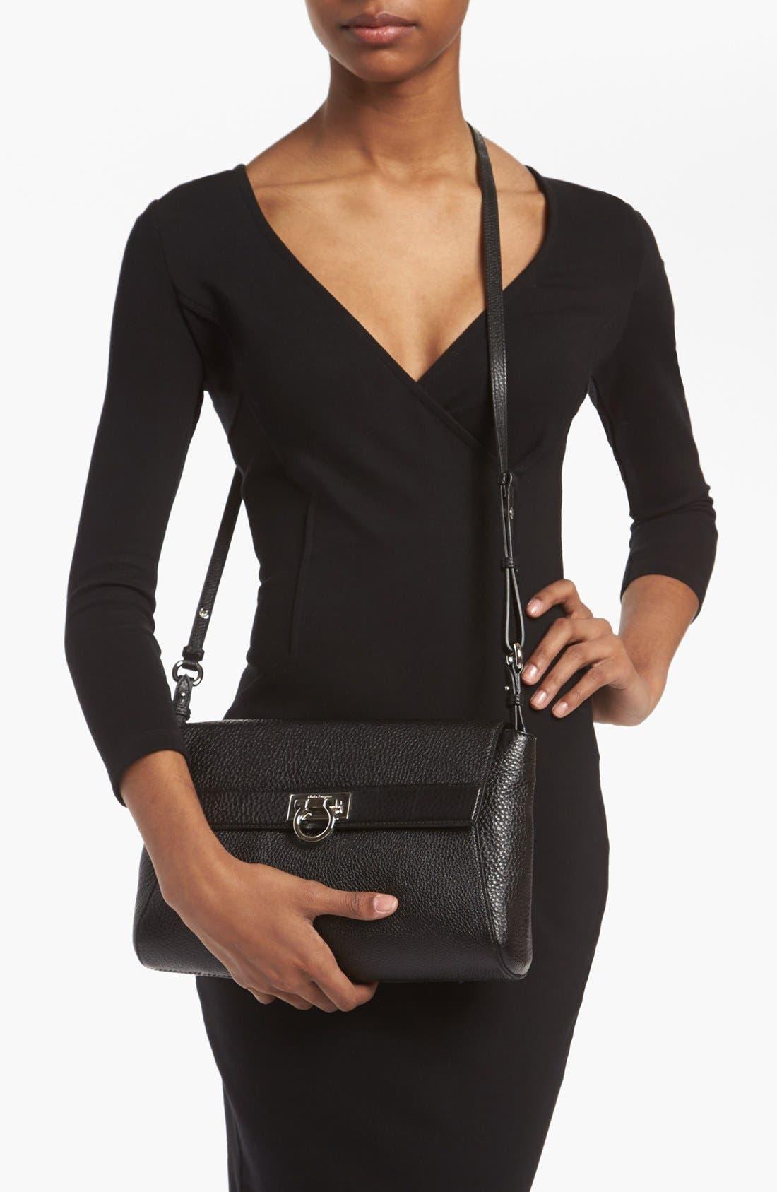 Alternate Image 2  - Salvatore Ferragamo 'Small Abbey' Leather Crossbody Bag