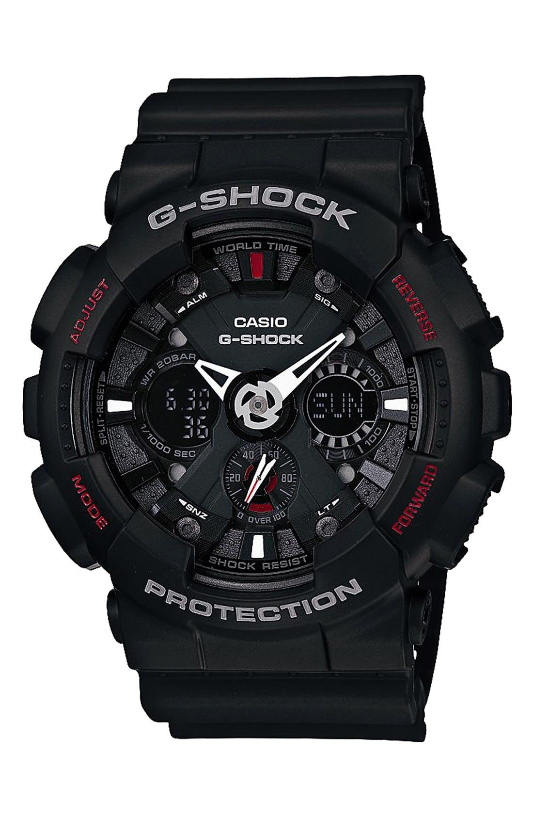 Main Image - G-Shock 'X-Large Ana-Digi' Watch, 55mm x 51mm (Online Only)