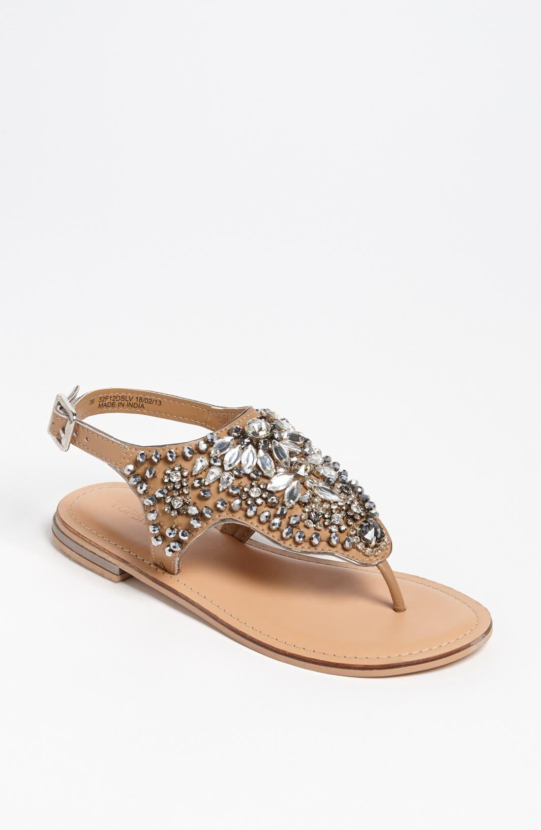 Alternate Image 1 Selected - Topshop 'Fliss' Sandal